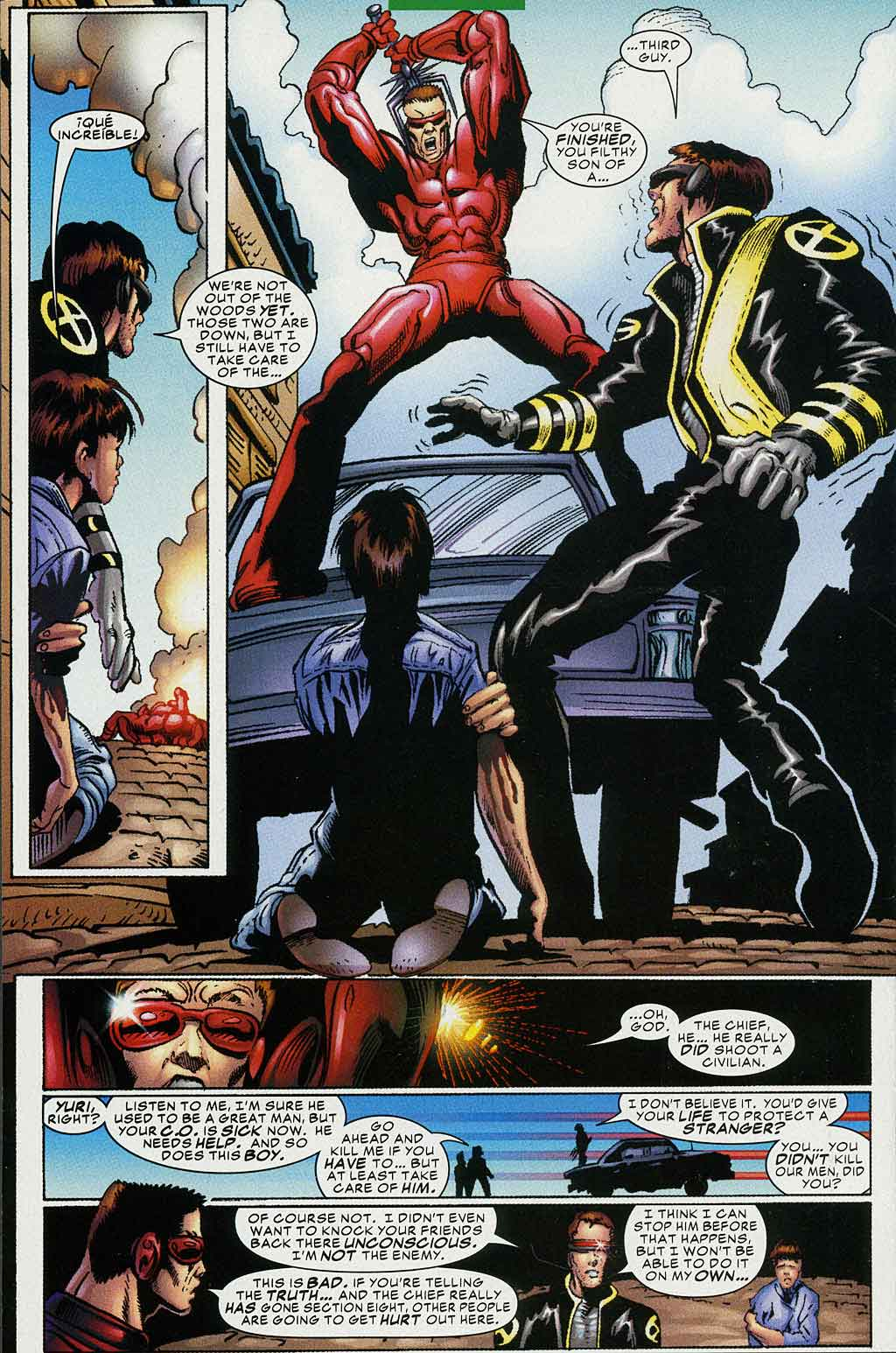 Read online Cyclops (2001) comic -  Issue #4 - 17