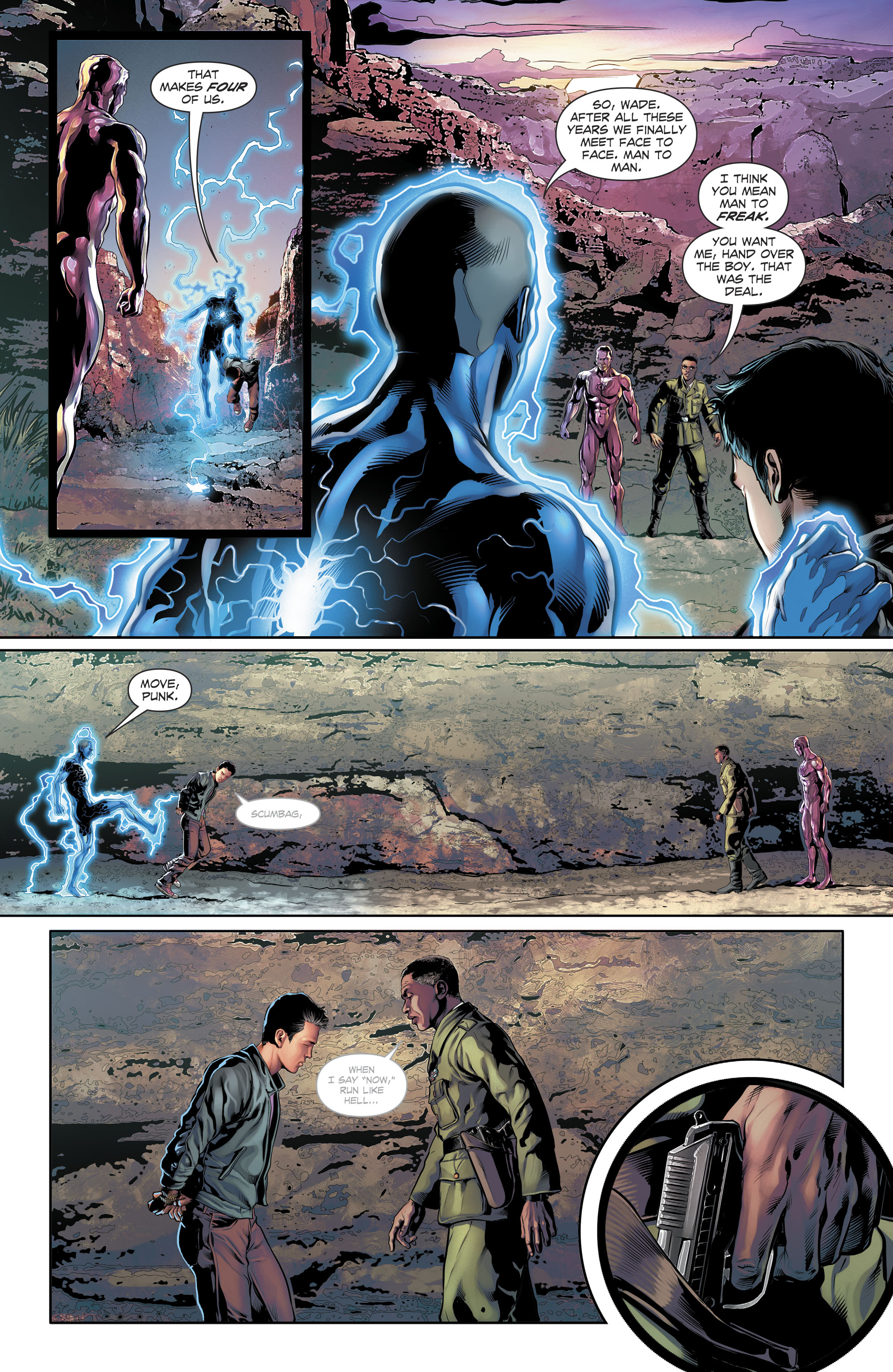 Read online The Fall and Rise of Captain Atom comic -  Issue #6 - 12