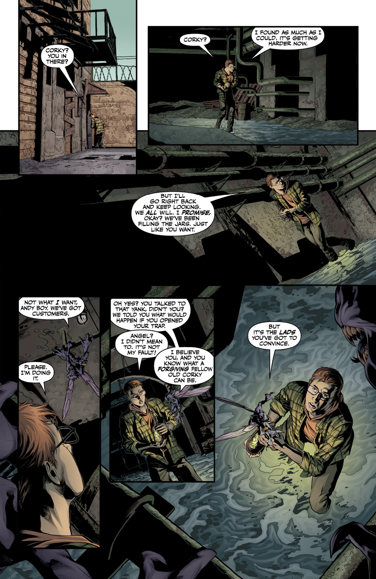 Read online Angel & Faith Season 10 comic -  Issue #1 - 13