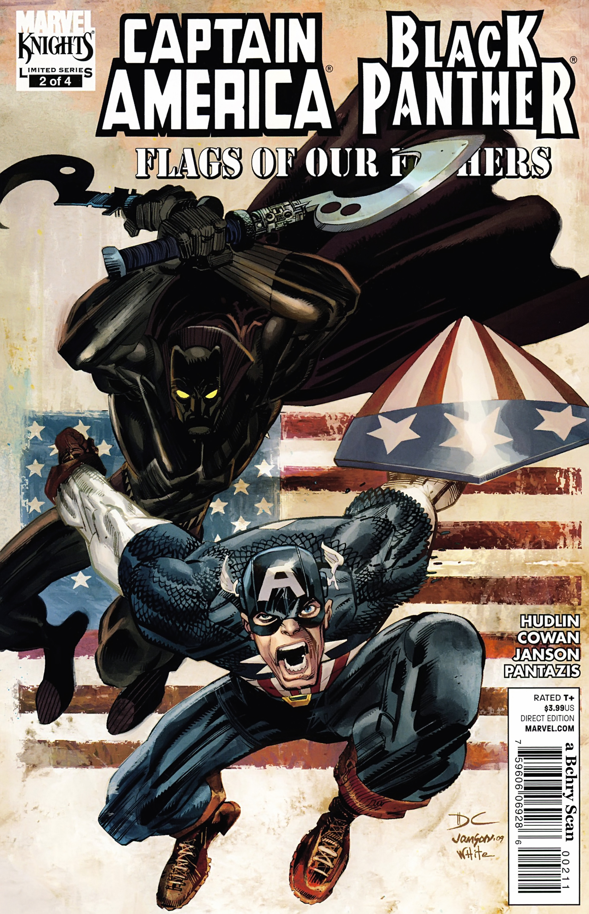 Black Panther/Captain America: Flags Of Our Fathers 2 Page 1