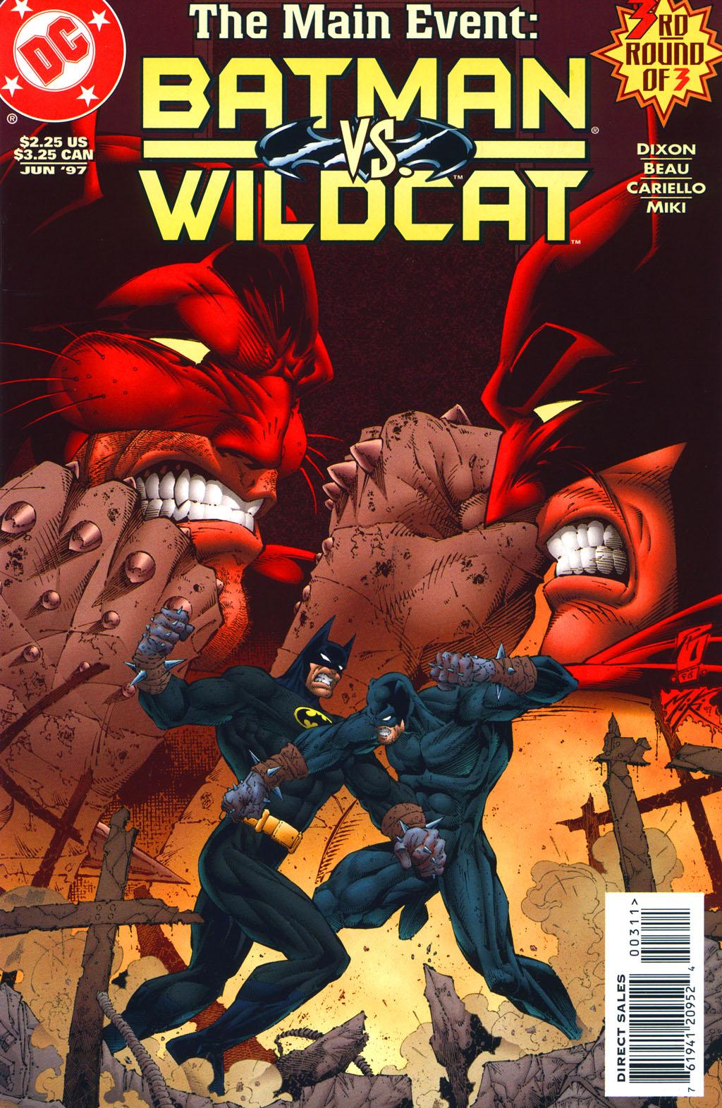 Read online Batman/Wildcat comic -  Issue #3 - 1