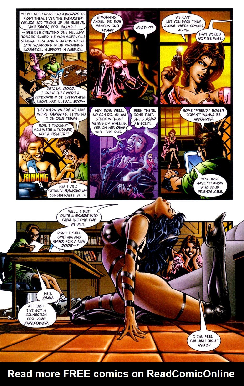 Read online Jade Warriors comic -  Issue #3 - 11