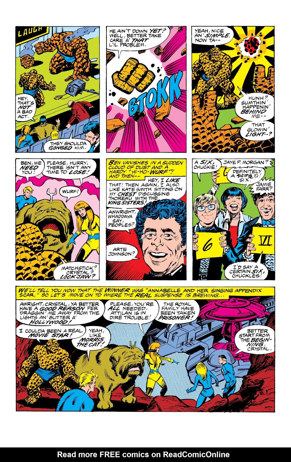 Read online Marvel Masterworks: The Inhumans comic -  Issue # TPB 2 (Part 3) - 56