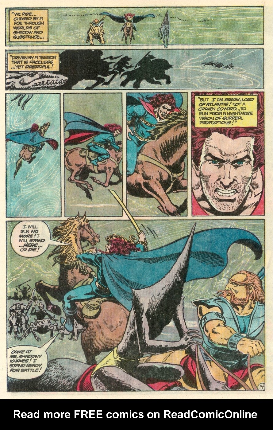 Read online Arion, Lord of Atlantis comic -  Issue #25 - 15