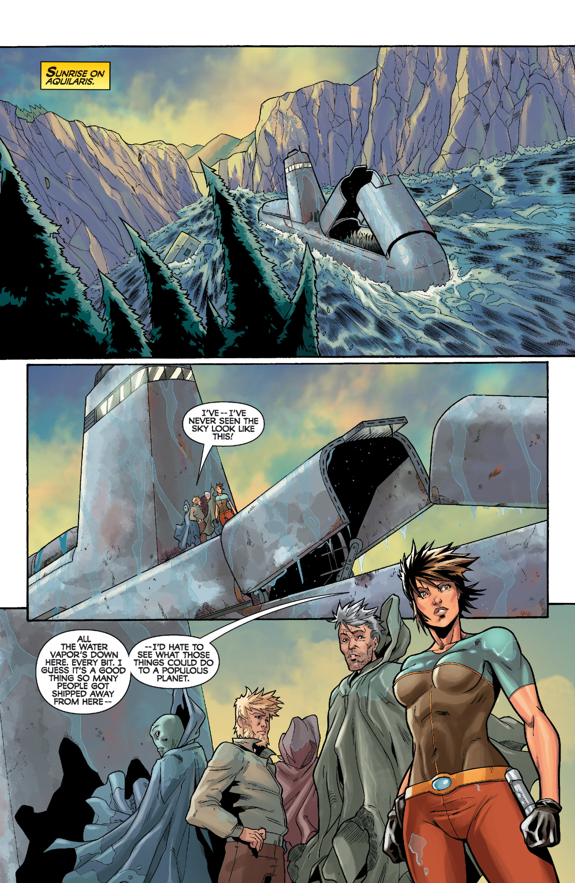 Read online Star Wars: Knight Errant - Deluge comic -  Issue #4 - 20