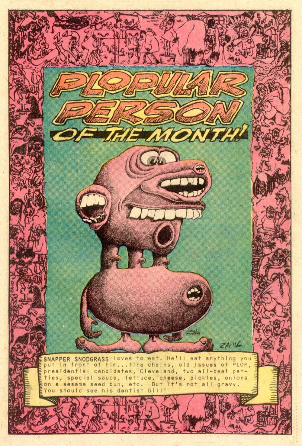 Read online Plop! comic -  Issue #24 - 40