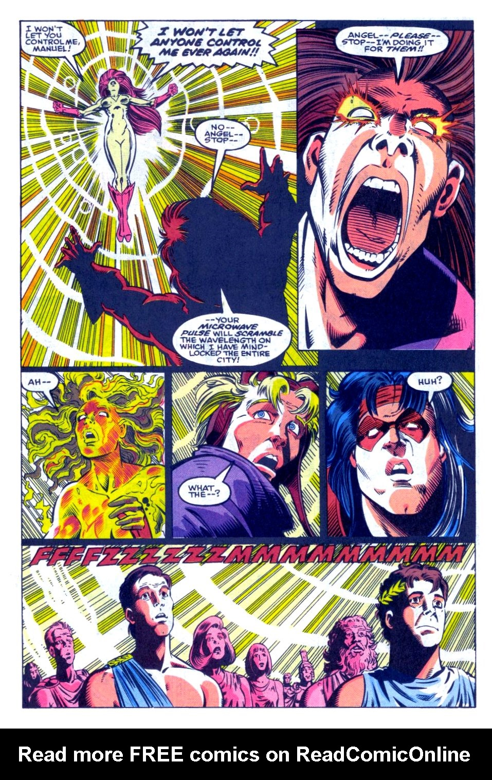 The New Warriors Issue #31 #35 - English 19