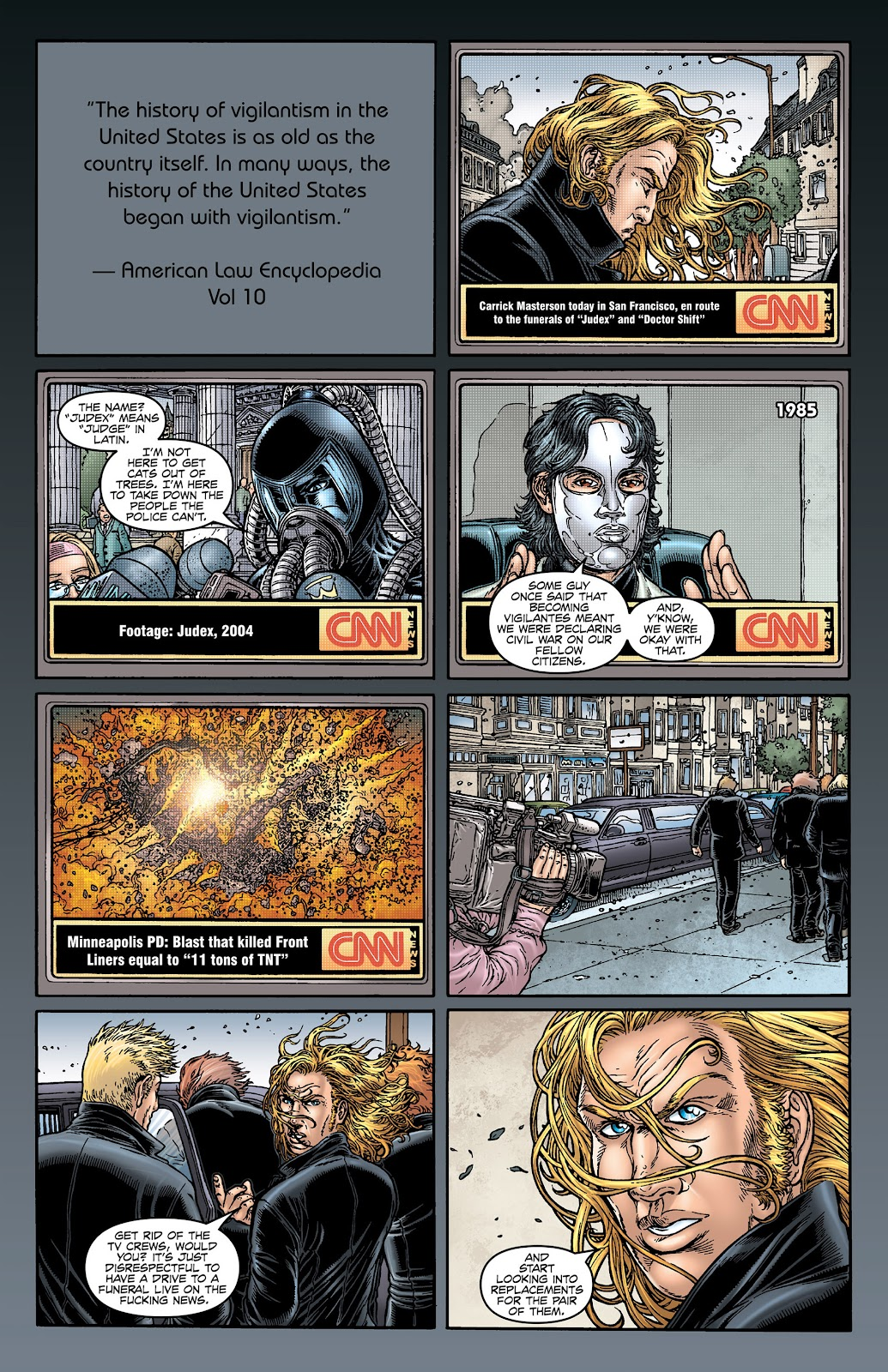 No Hero issue 1 - Page 1