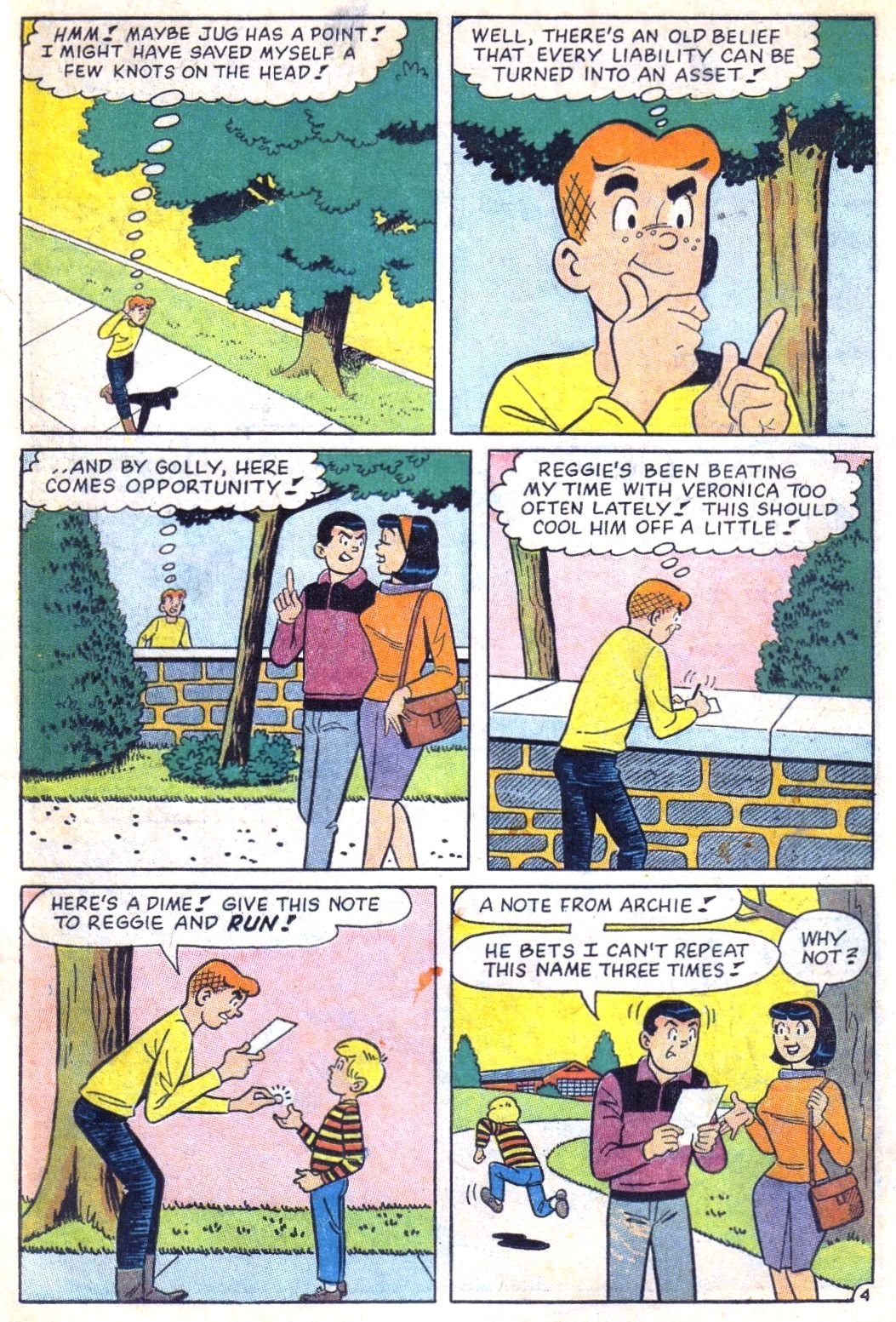 Read online Archie (1960) comic -  Issue #171 - 23