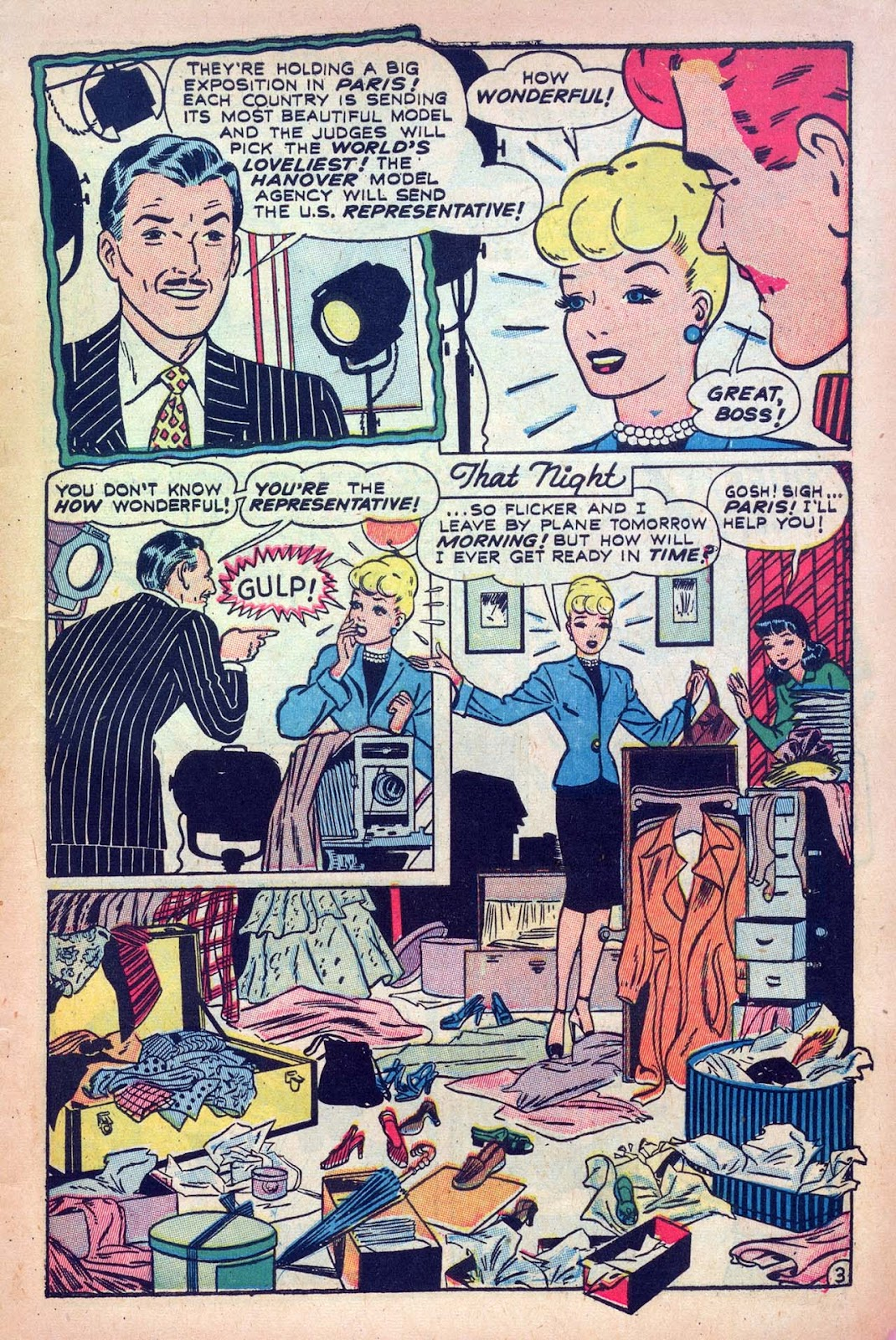 Read online Millie the Model comic -  Issue #9 - 5
