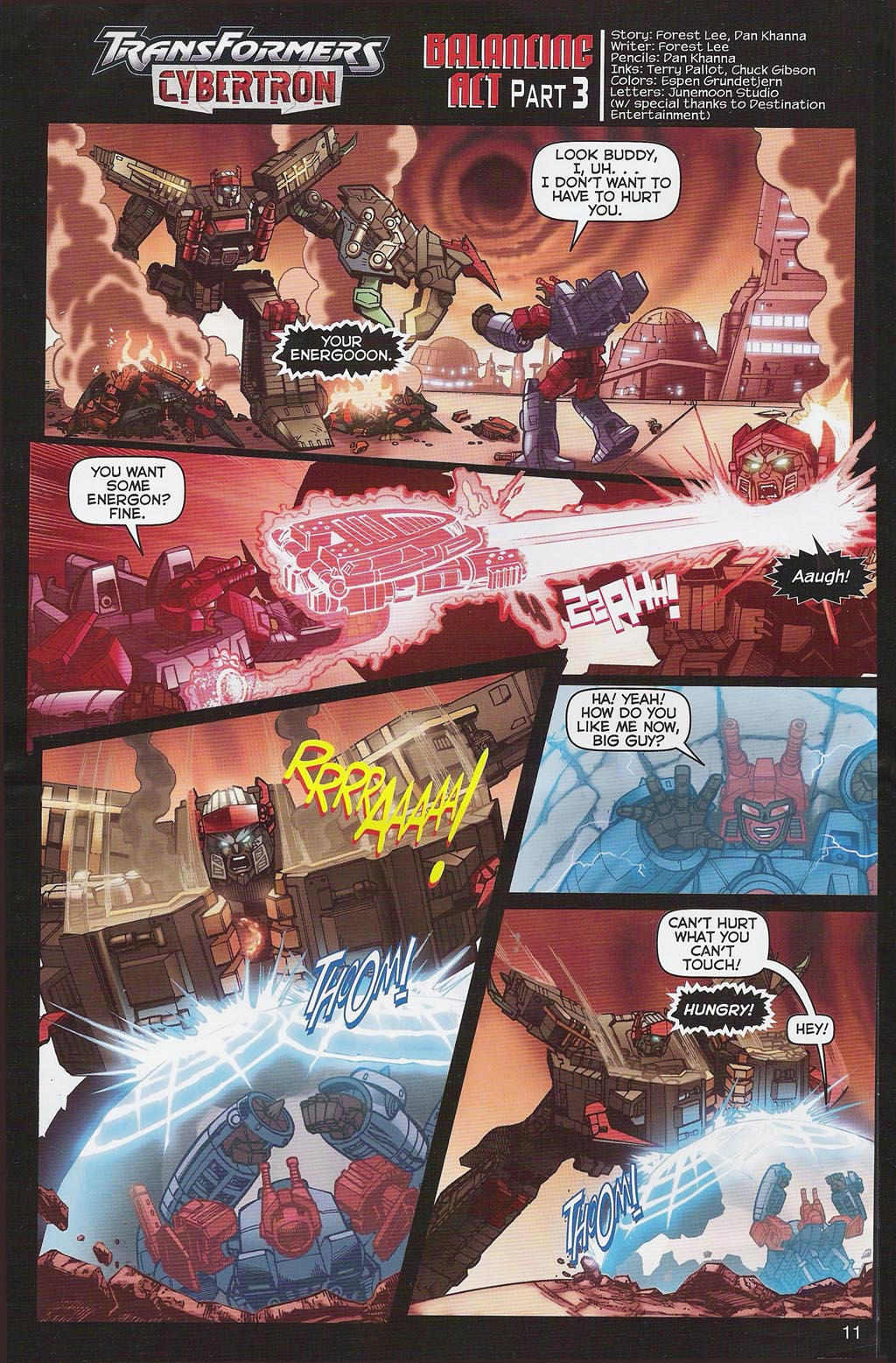 Read online Transformers: Collectors' Club comic -  Issue #4 - 11