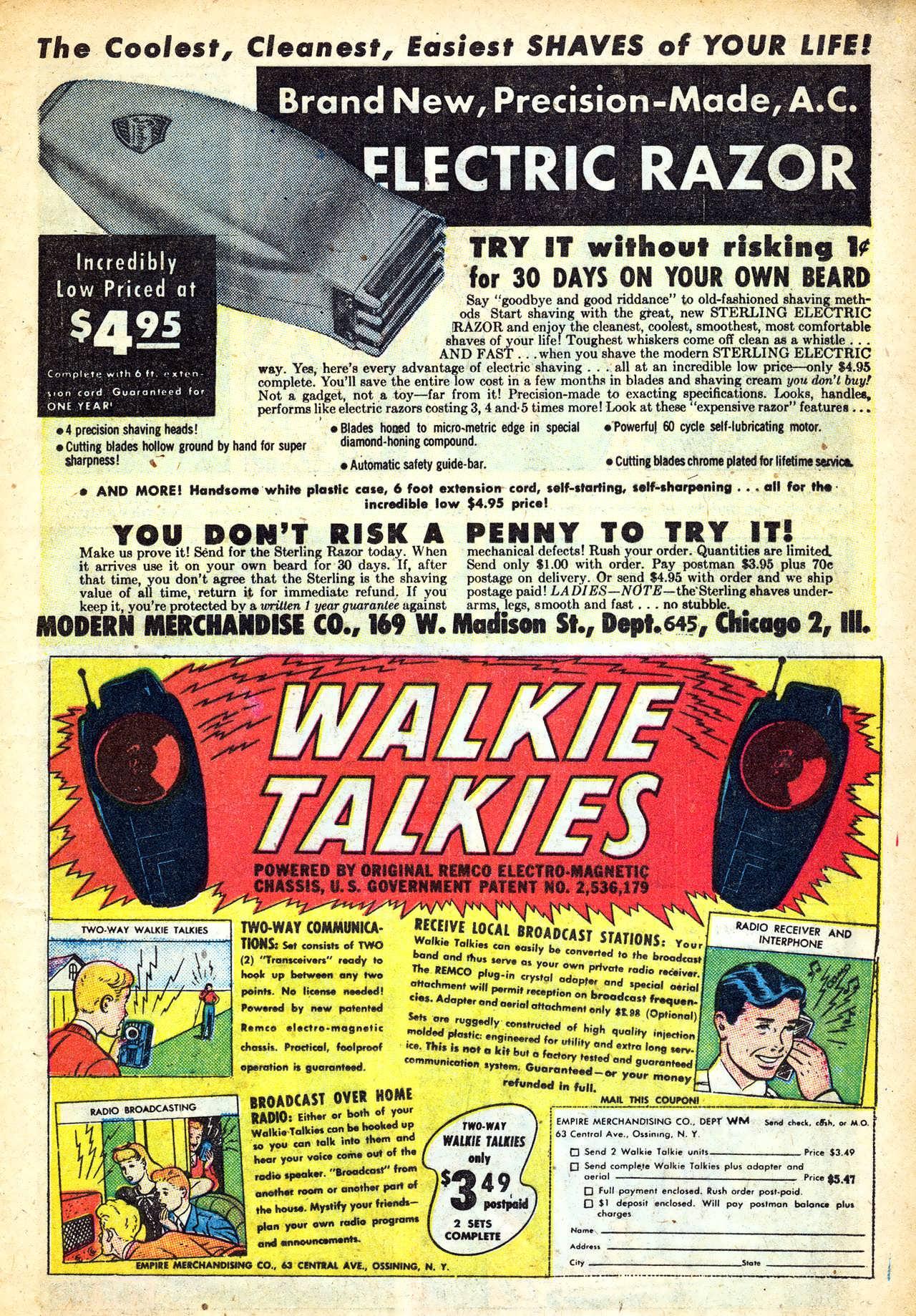Read online Adventures into Weird Worlds comic -  Issue #11 - 21