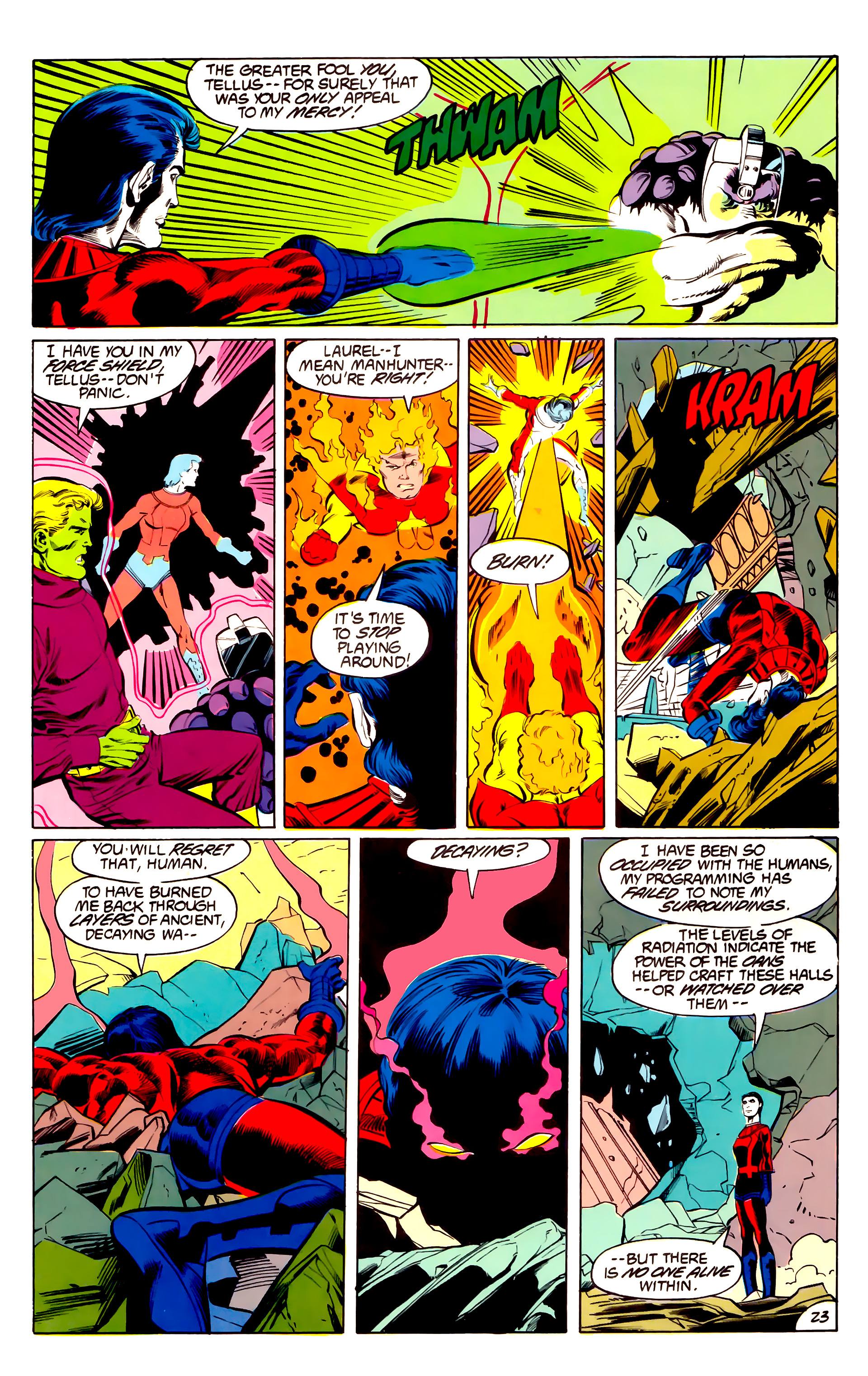 Legion of Super-Heroes (1984) 43 Page 23