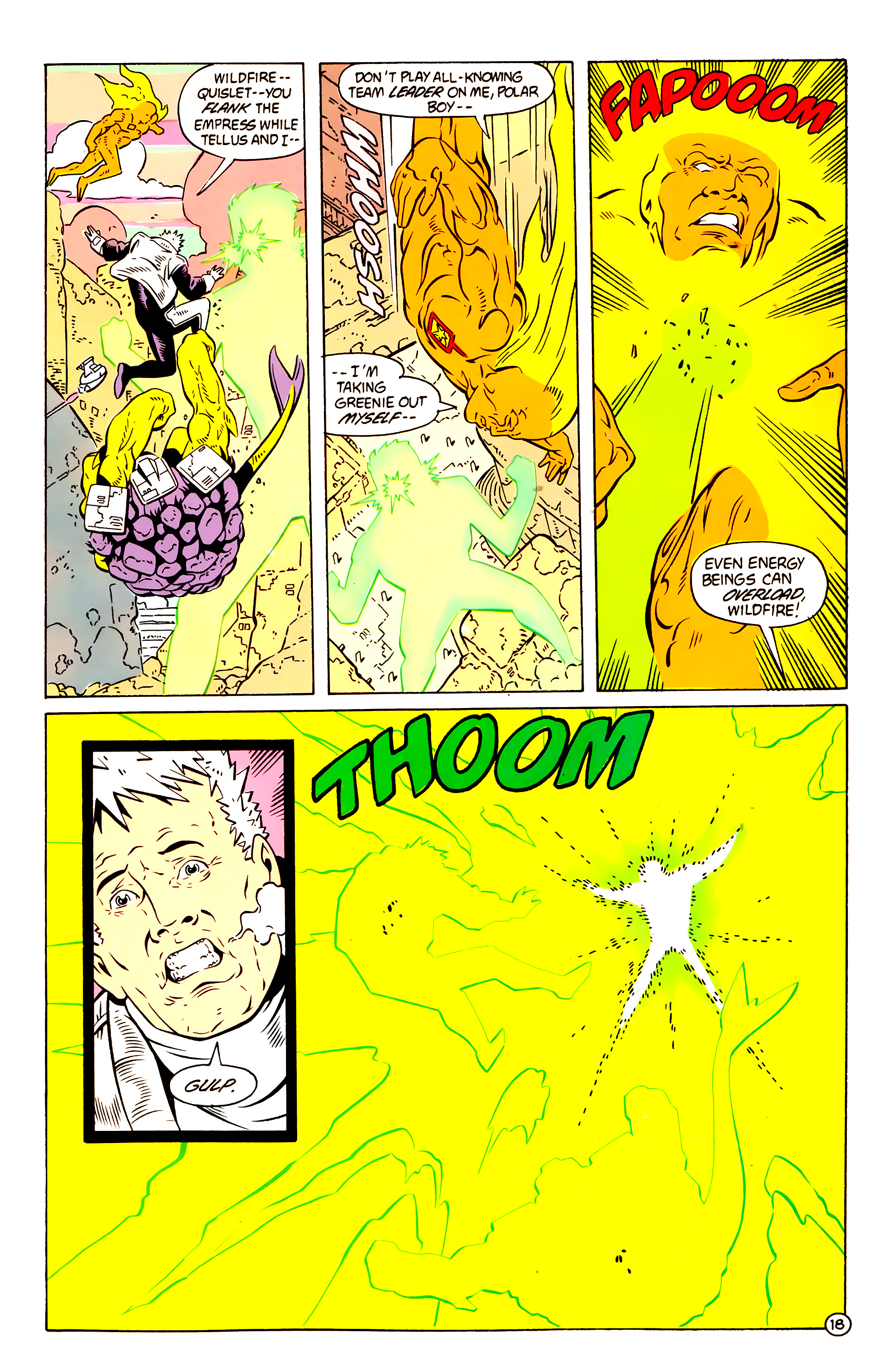 Legion of Super-Heroes (1984) 58 Page 18
