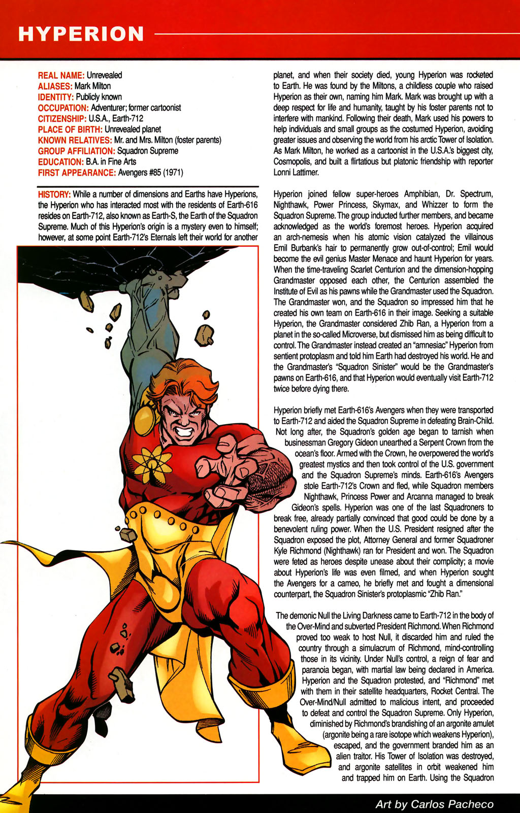 Read online All-New Official Handbook of the Marvel Universe A to Z comic -  Issue #5 - 46