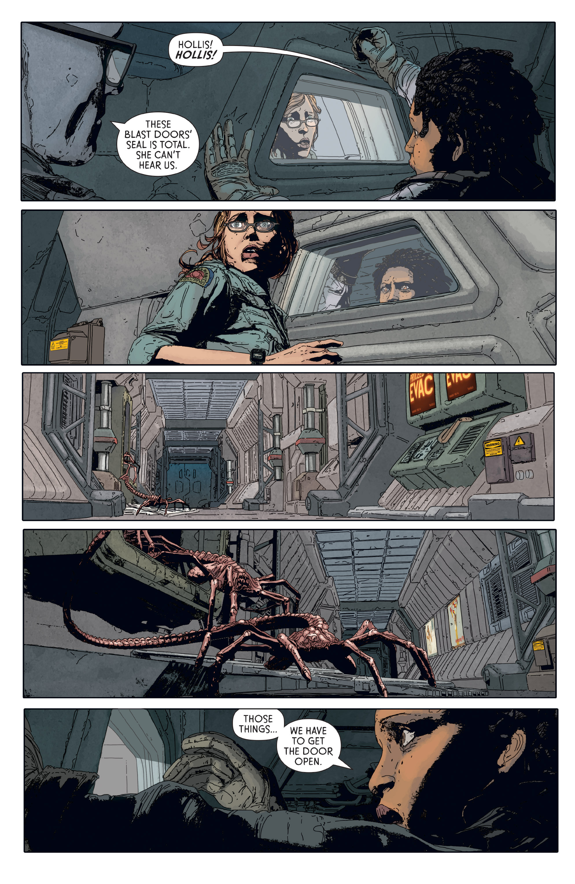 Read online Aliens: Defiance comic -  Issue #6 - 12