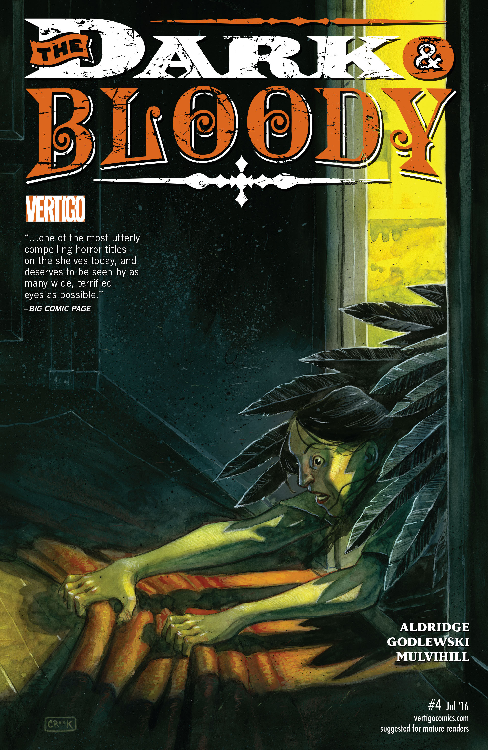 The Dark & Bloody 4 Page 1