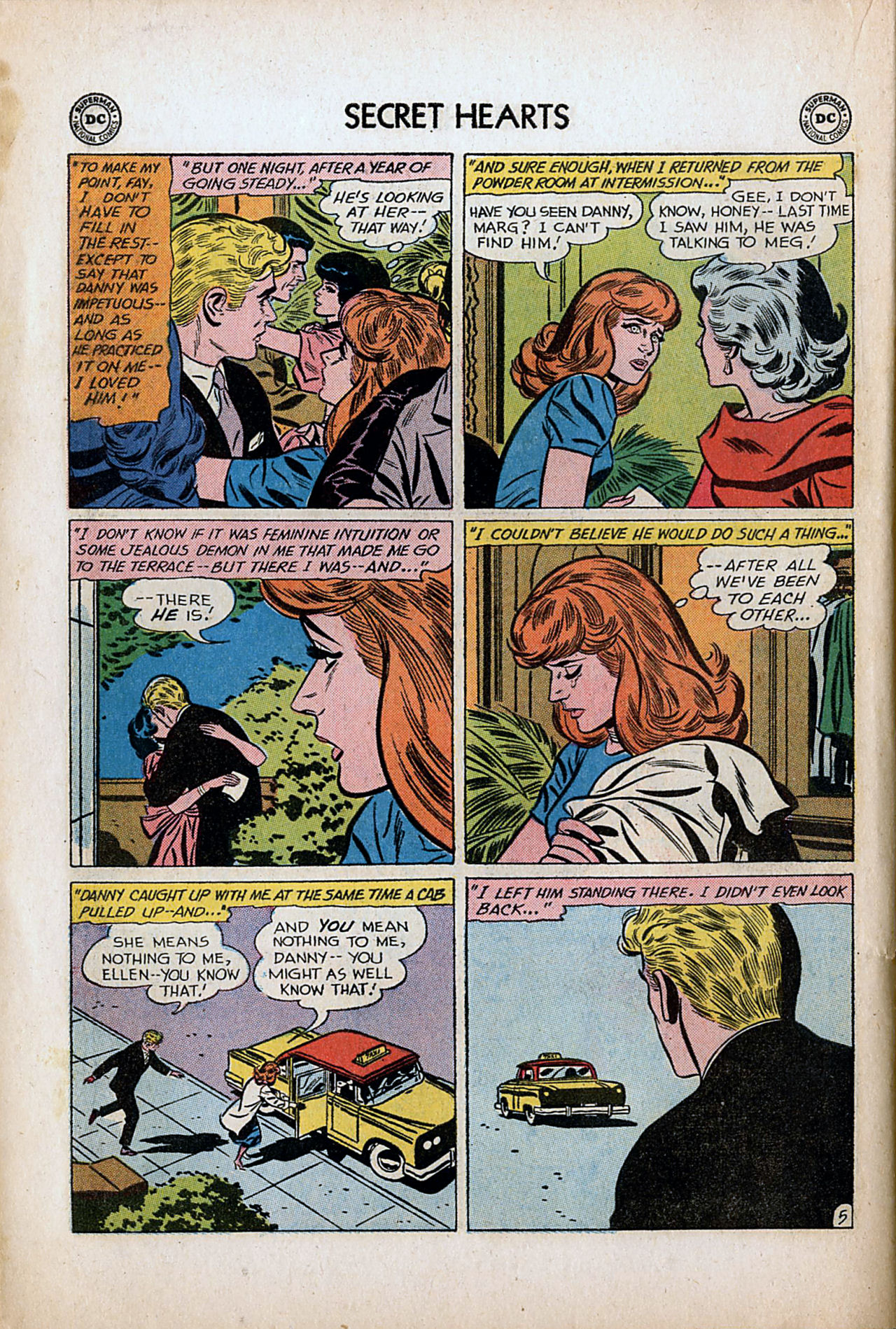 Read online Secret Hearts comic -  Issue #80 - 22