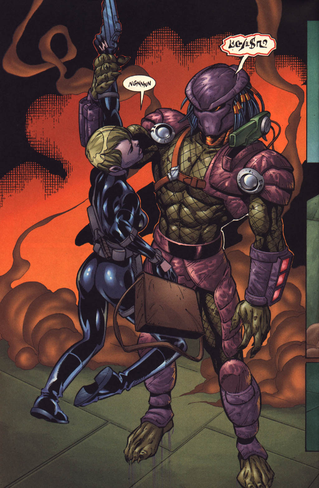 Read online Aliens vs. Predator: Xenogenesis comic -  Issue #3 - 26
