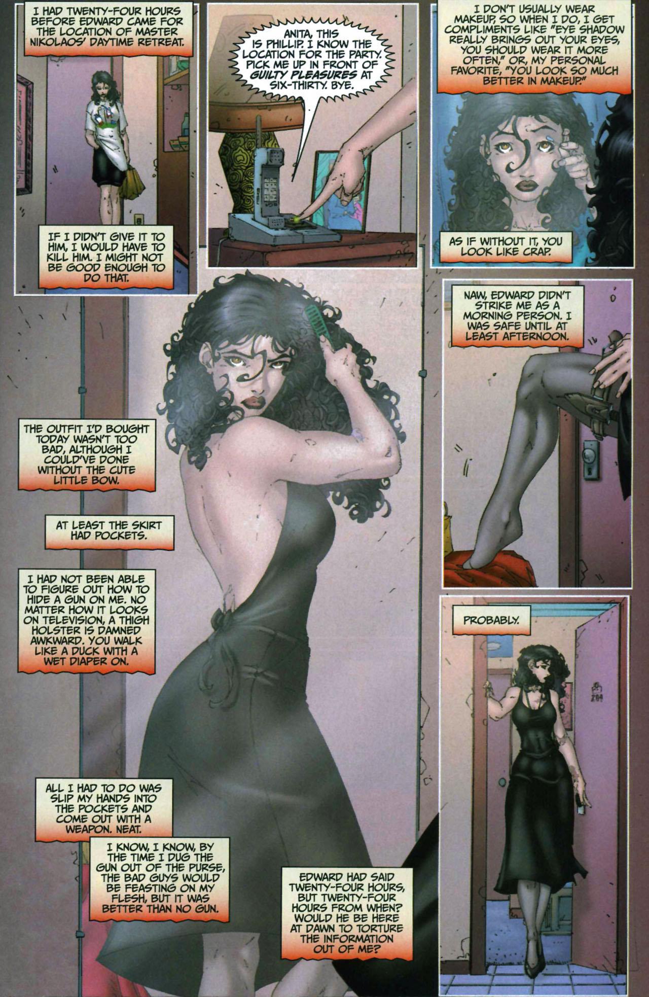 Read online Anita Blake, Vampire Hunter: Guilty Pleasures comic -  Issue #6 - 11