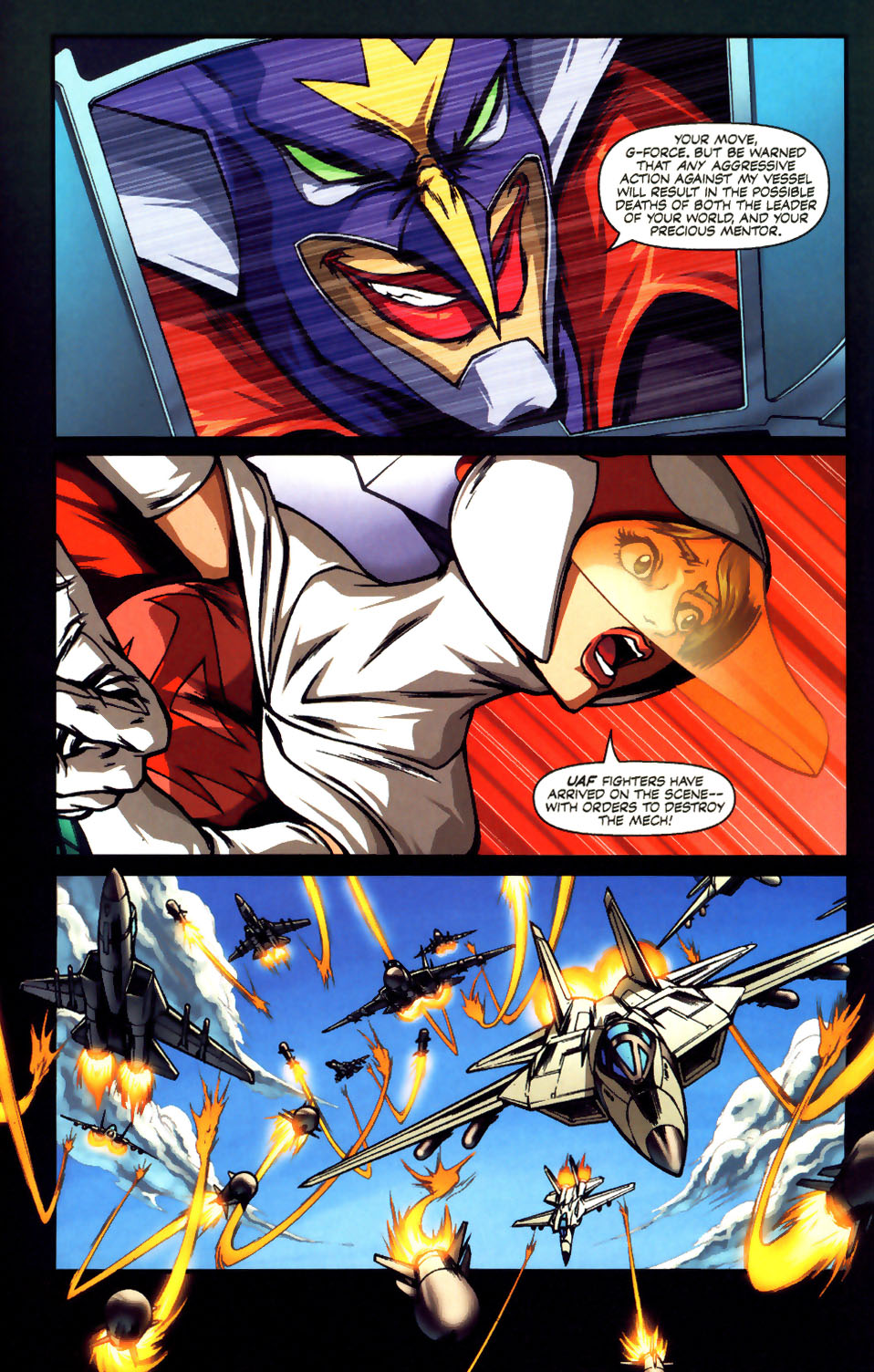 Battle of the Planets Issue #12 #14 - English 3