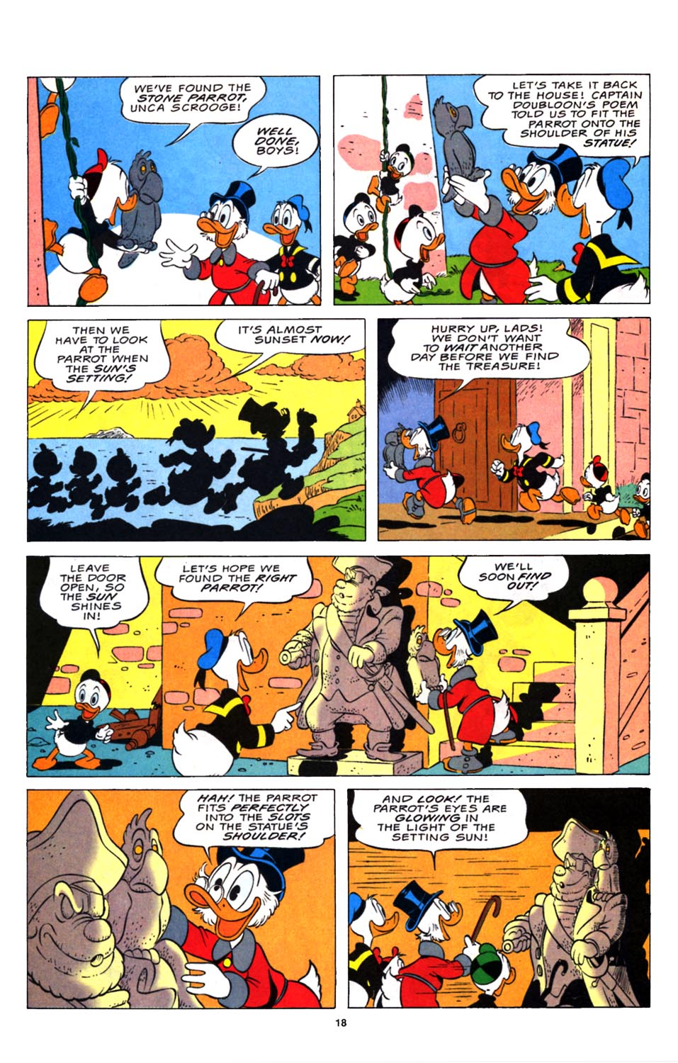 Read online Uncle Scrooge (1953) comic -  Issue #248 - 20
