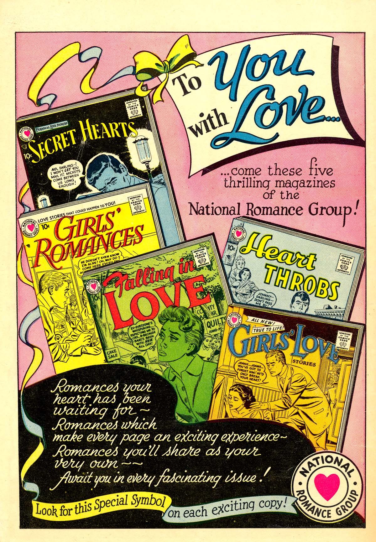 Read online Secret Hearts comic -  Issue #40 - 36