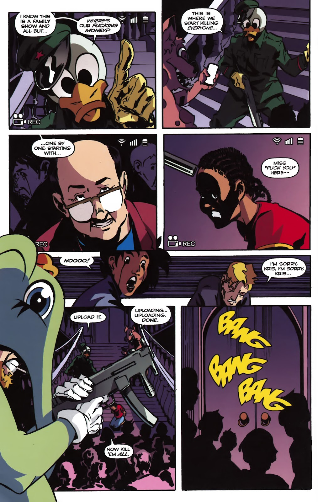 Read online Ricky Rouse Has A Gun comic -  Issue # TPB (Part 2) - 61