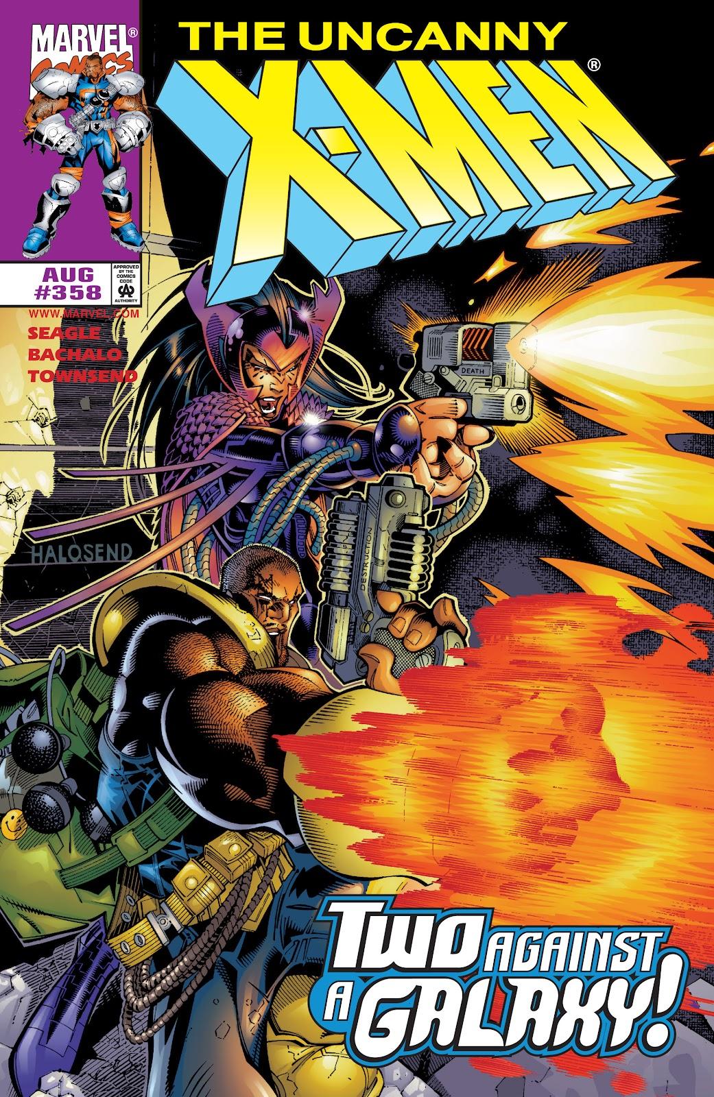 Uncanny X-Men (1963) 358 Page 1