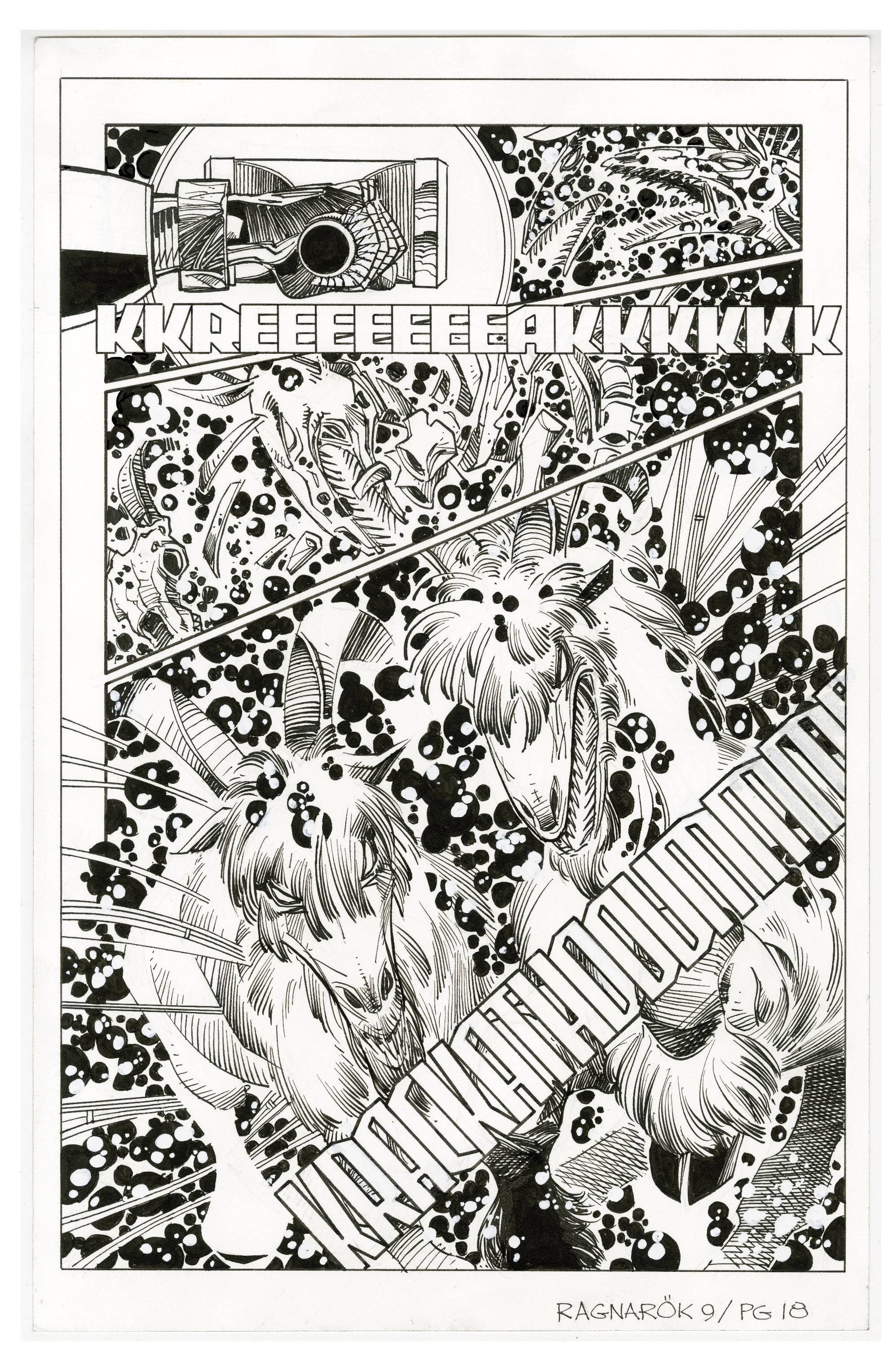 Read online Ragnarok comic -  Issue #9 - 32