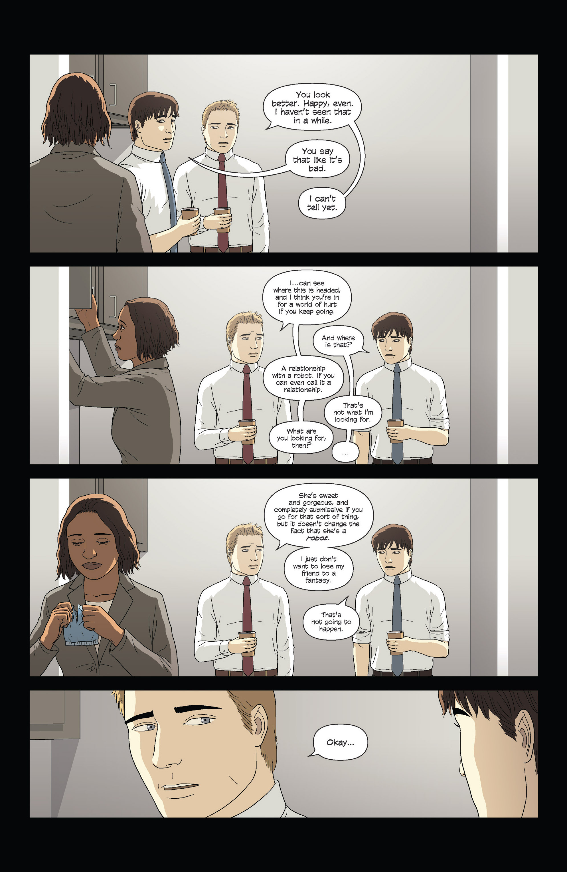 Read online Alex   Ada comic -  Issue #7 - 5
