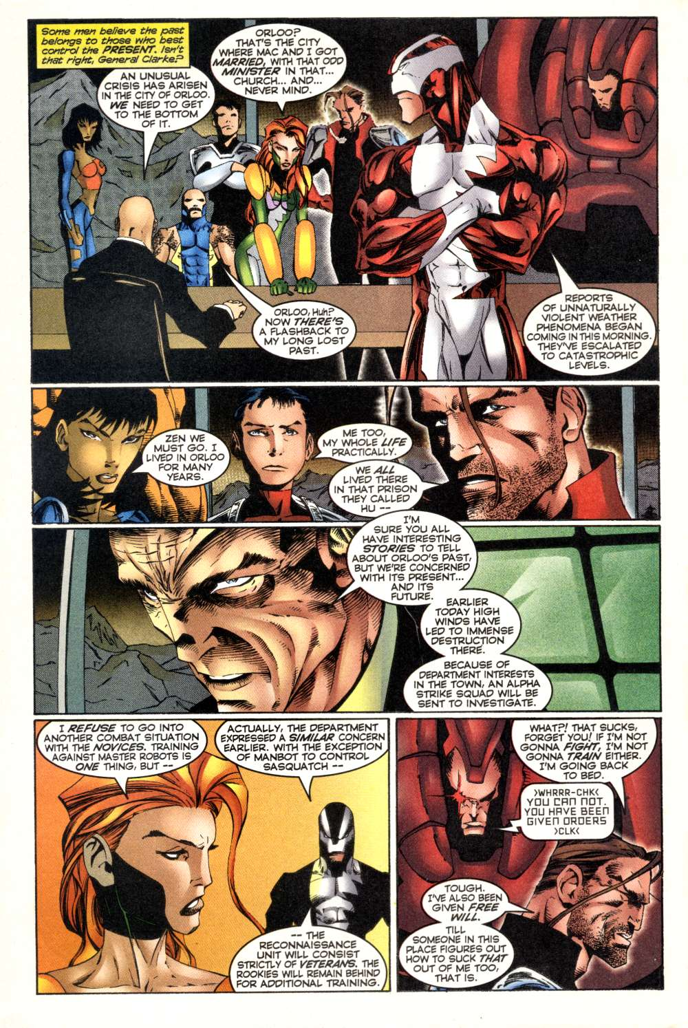 Read online Alpha Flight (1997) comic -  Issue #3 - 8