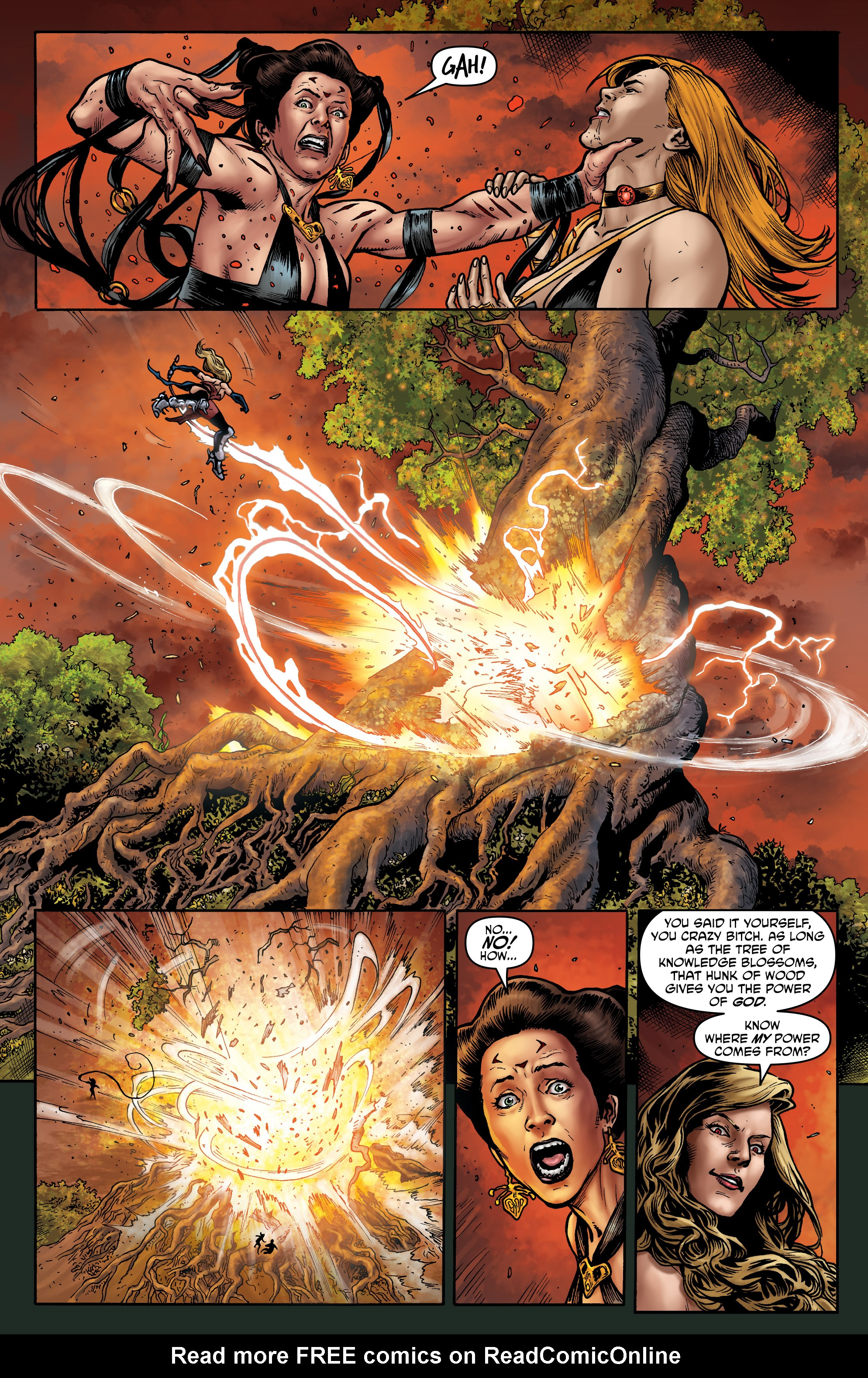 Read online Hellina: Scythe comic -  Issue #4 - 12