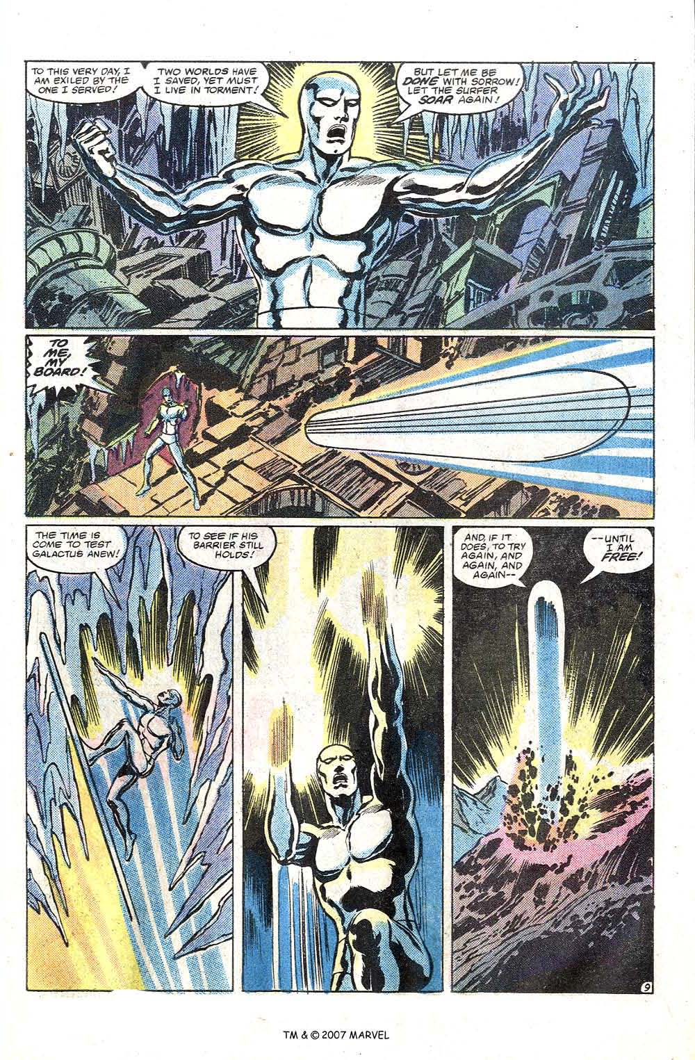 Read online Silver Surfer (1982) comic -  Issue # Full - 11