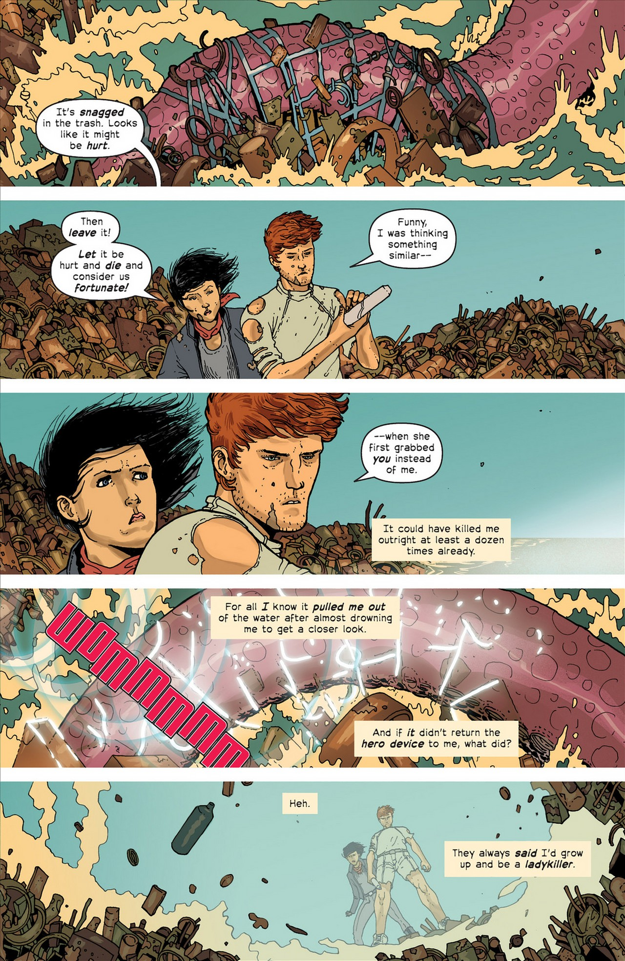 Read online Great Pacific comic -  Issue #4 - 6