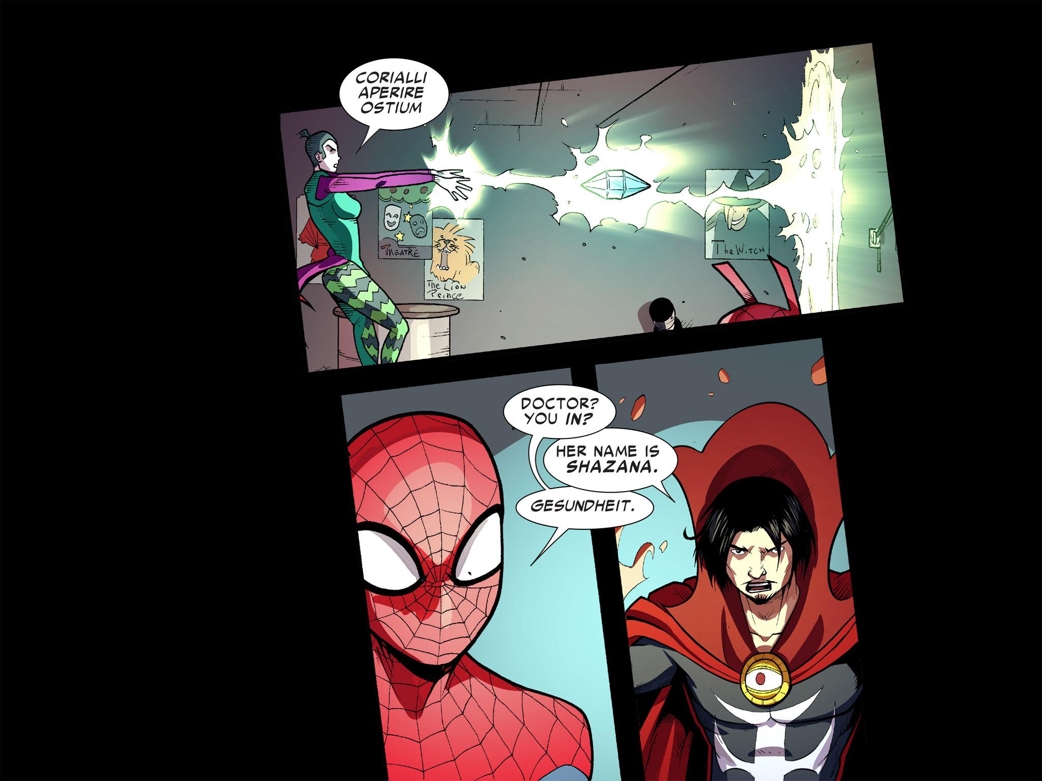 Read online Ultimate Spider-Man (Infinite Comics) (2016) comic -  Issue #9 - 28