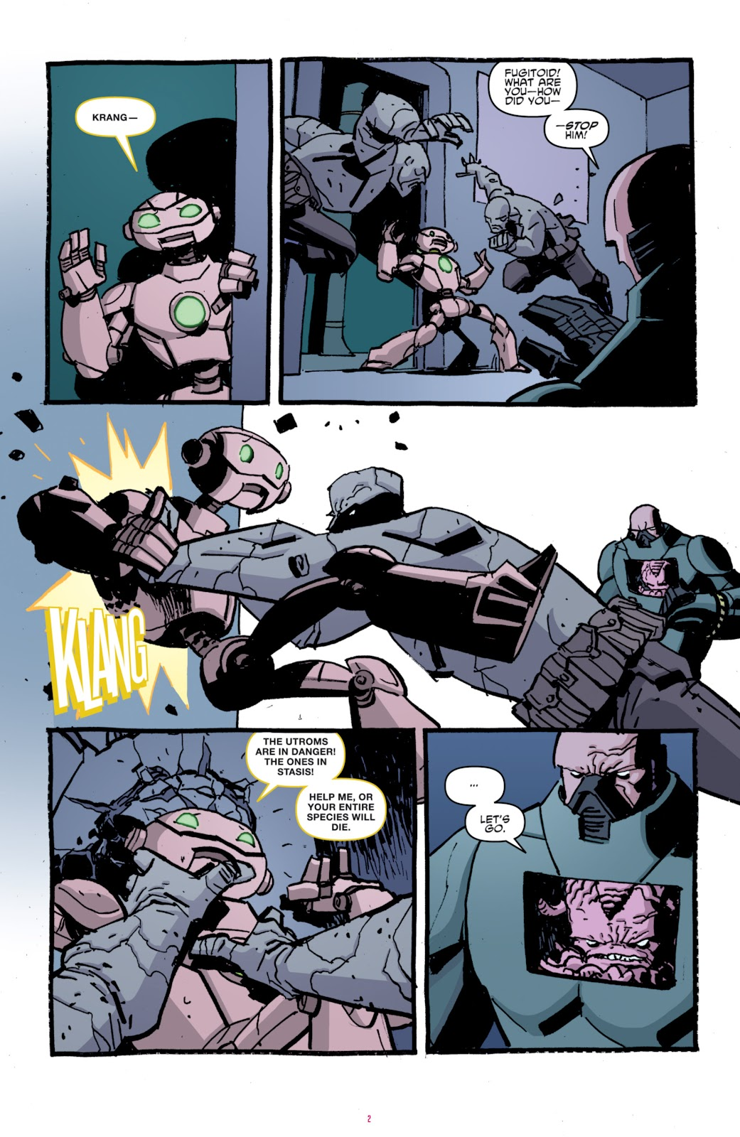 Read online Teenage Mutant Ninja Turtles: The IDW Collection comic -  Issue # TPB 4 (Part 1) - 77