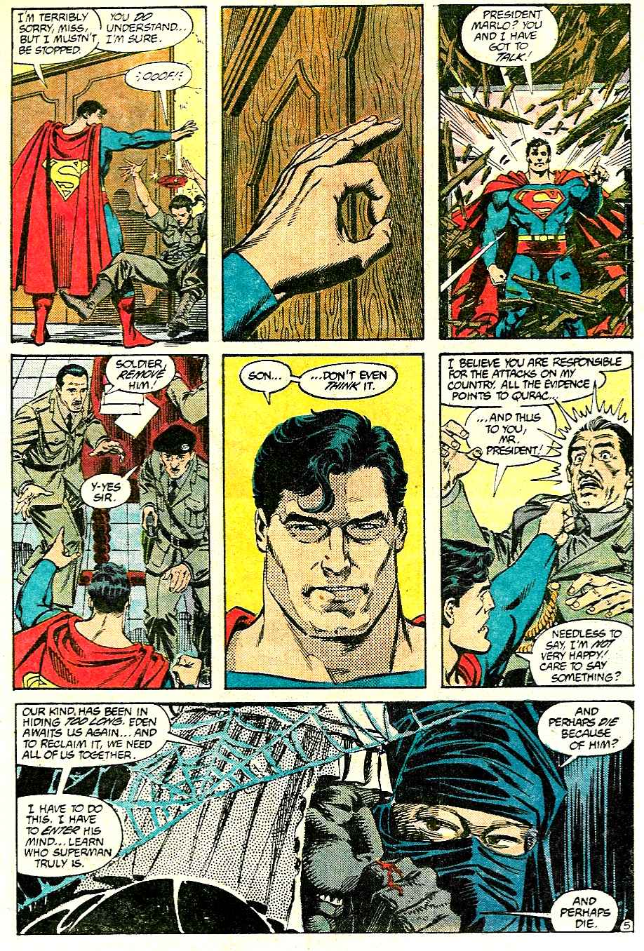 Read online Adventures of Superman (1987) comic -  Issue #427 - 5