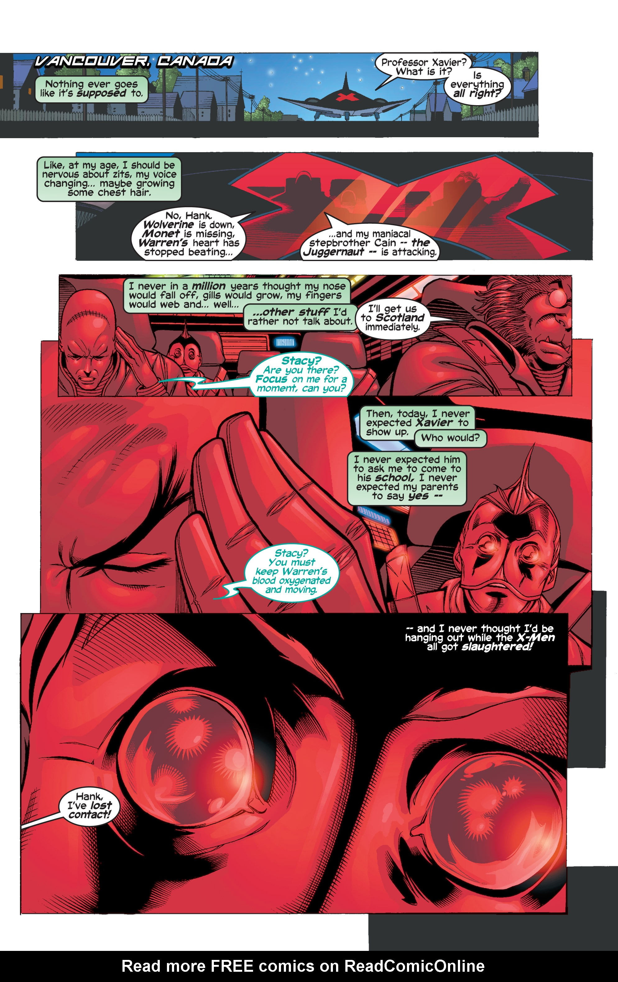Read online Uncanny X-Men (1963) comic -  Issue #411 - 2