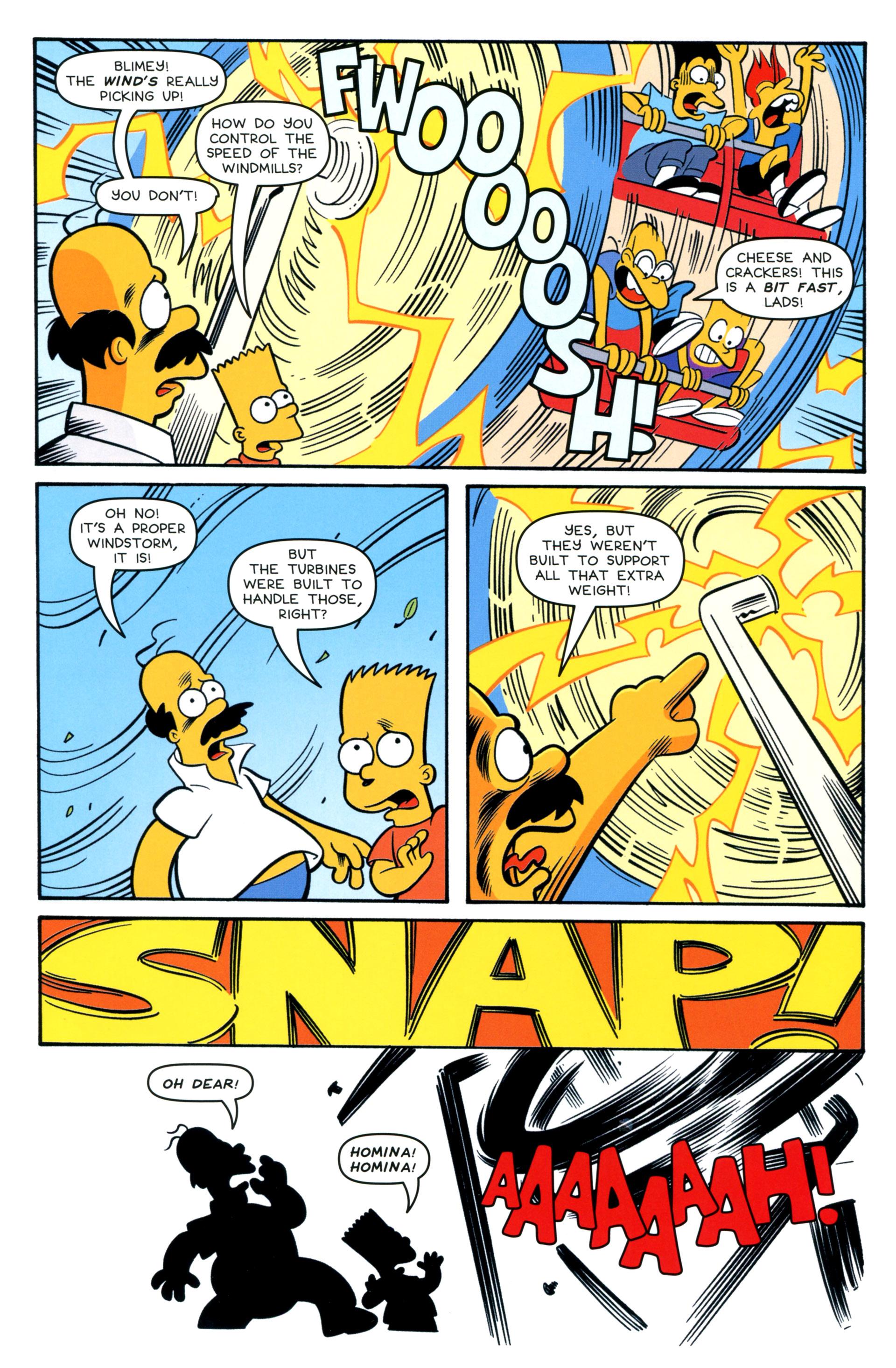 Read online Simpsons Comics comic -  Issue #208 - 19