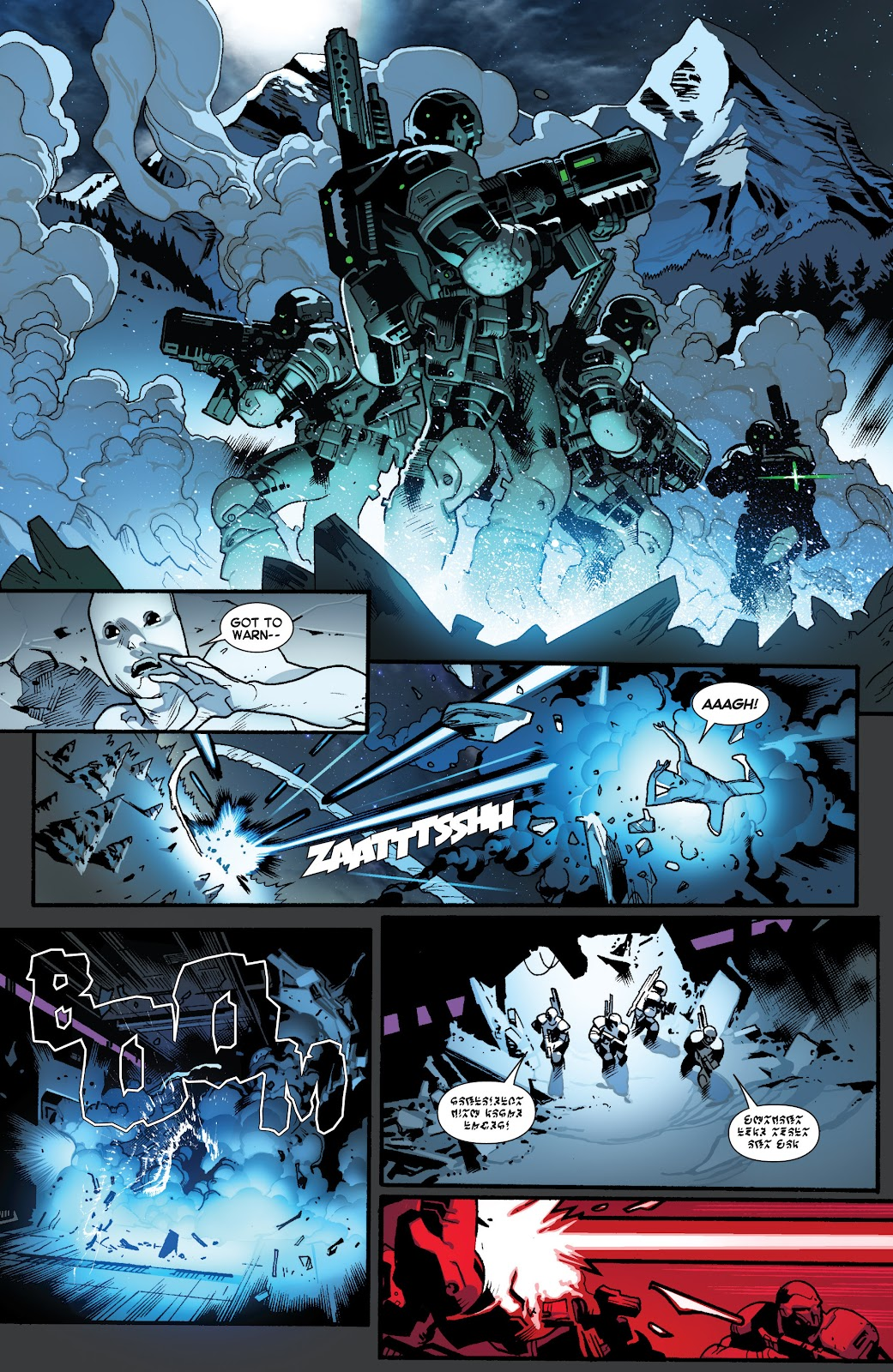 Guardians of the Galaxy/All-New X-Men: The Trial of Jean Grey issue TPB - Page 13