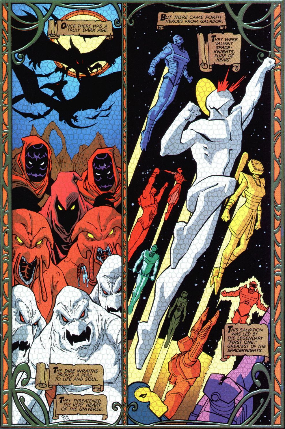 Read online Spaceknights (2000) comic -  Issue #1 - 2