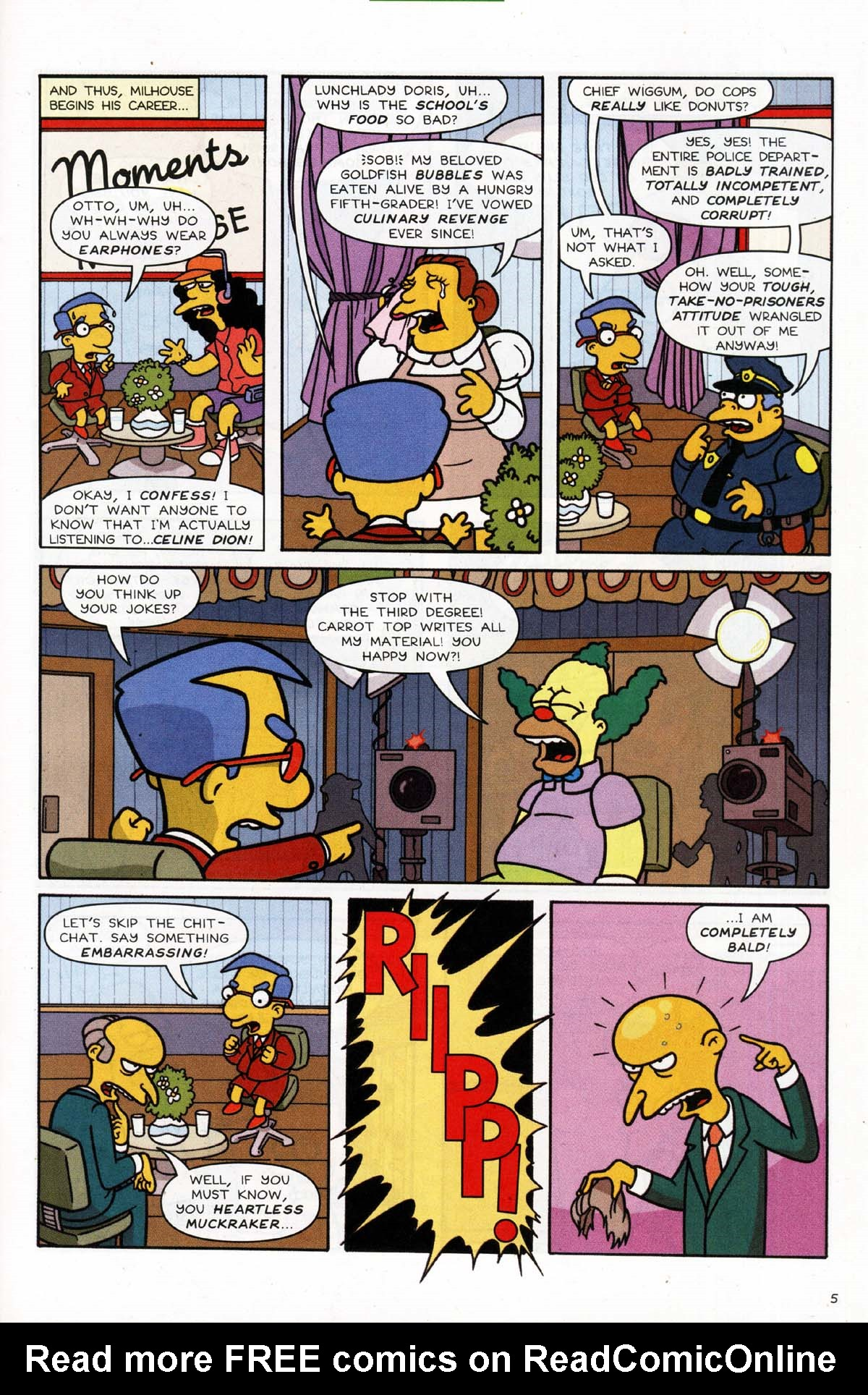 Read online Simpsons Comics Presents Bart Simpson comic -  Issue #10 - 24