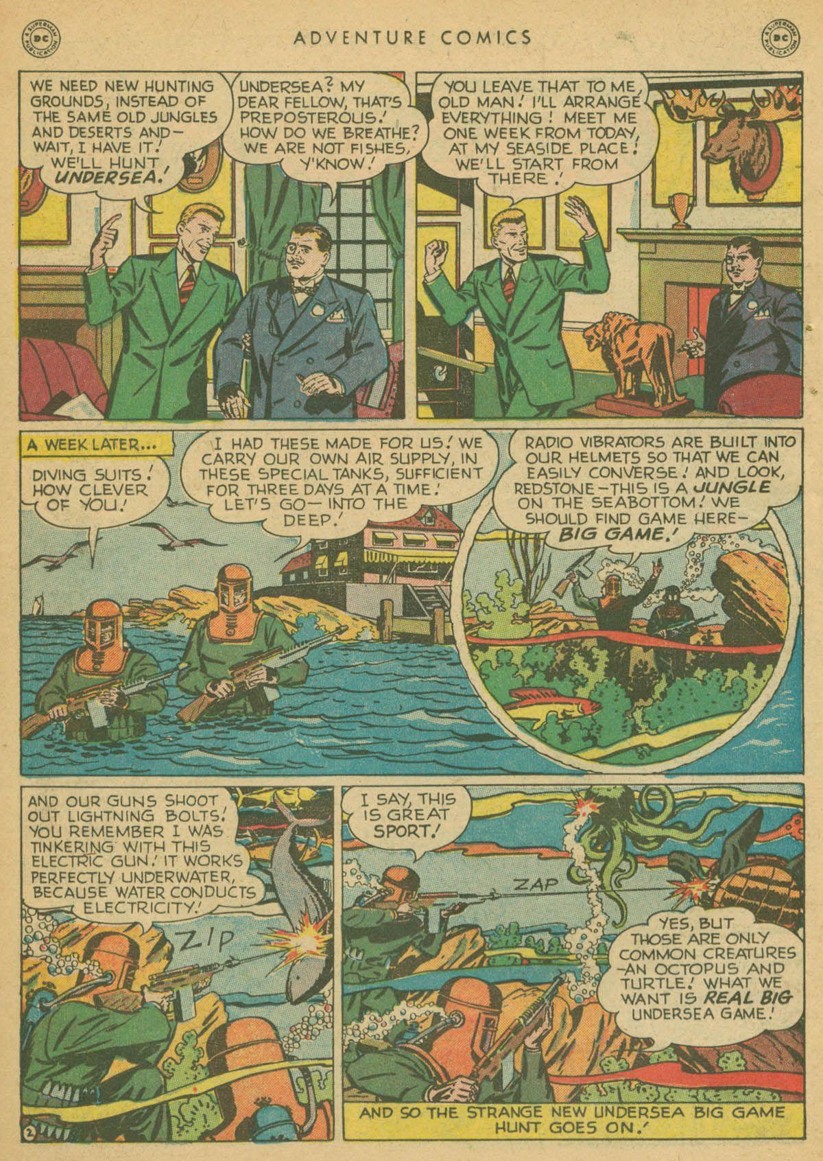 Read online Adventure Comics (1938) comic -  Issue #142 - 25