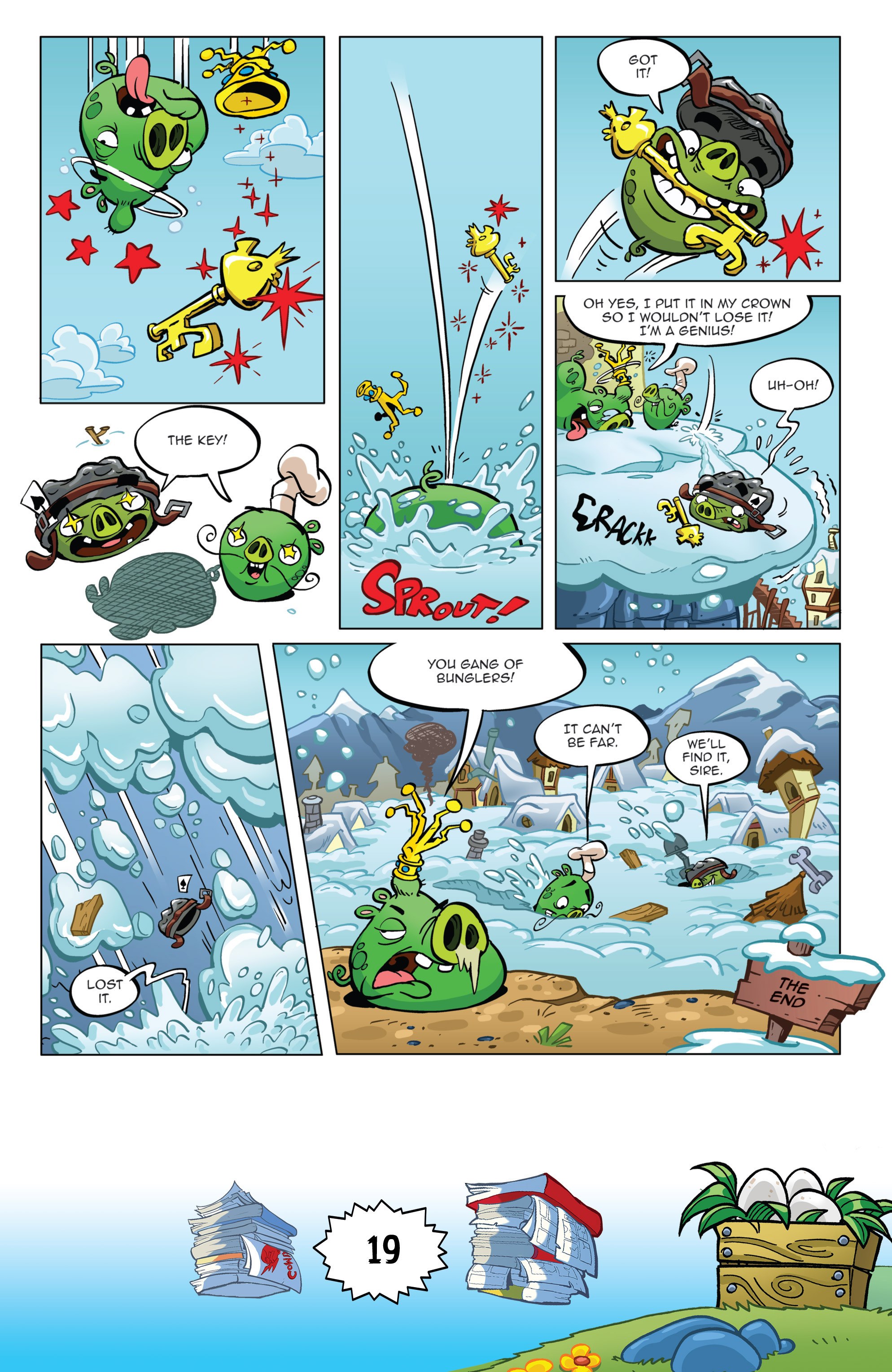Read online Angry Birds Comics (2016) comic -  Issue #6 - 21