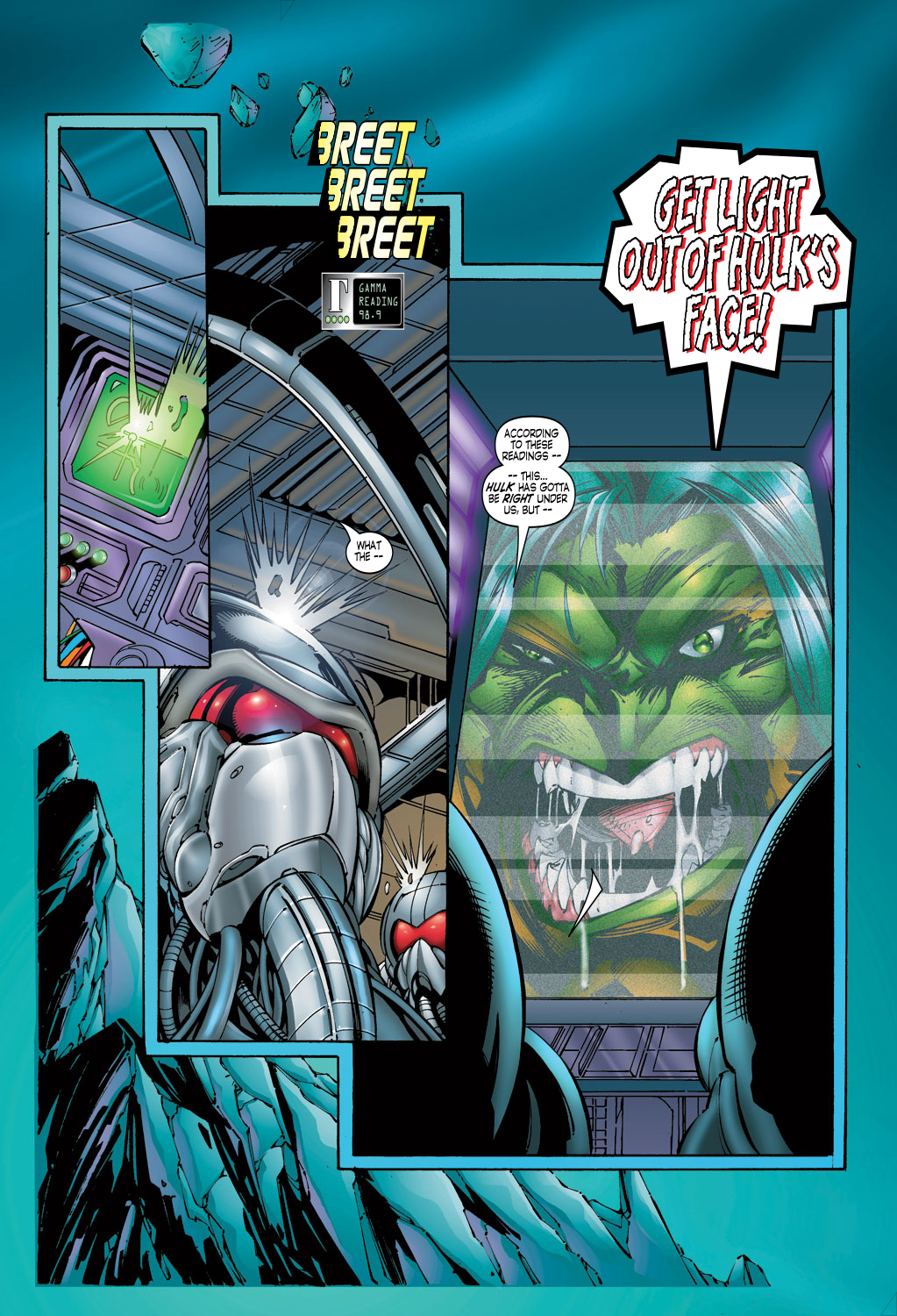 Read online Avengers (1996) comic -  Issue #4 - 4