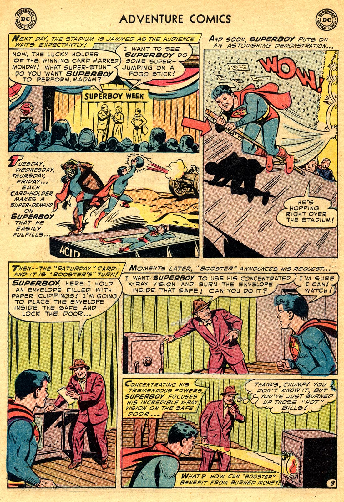 Read online Adventure Comics (1938) comic -  Issue #209 - 10