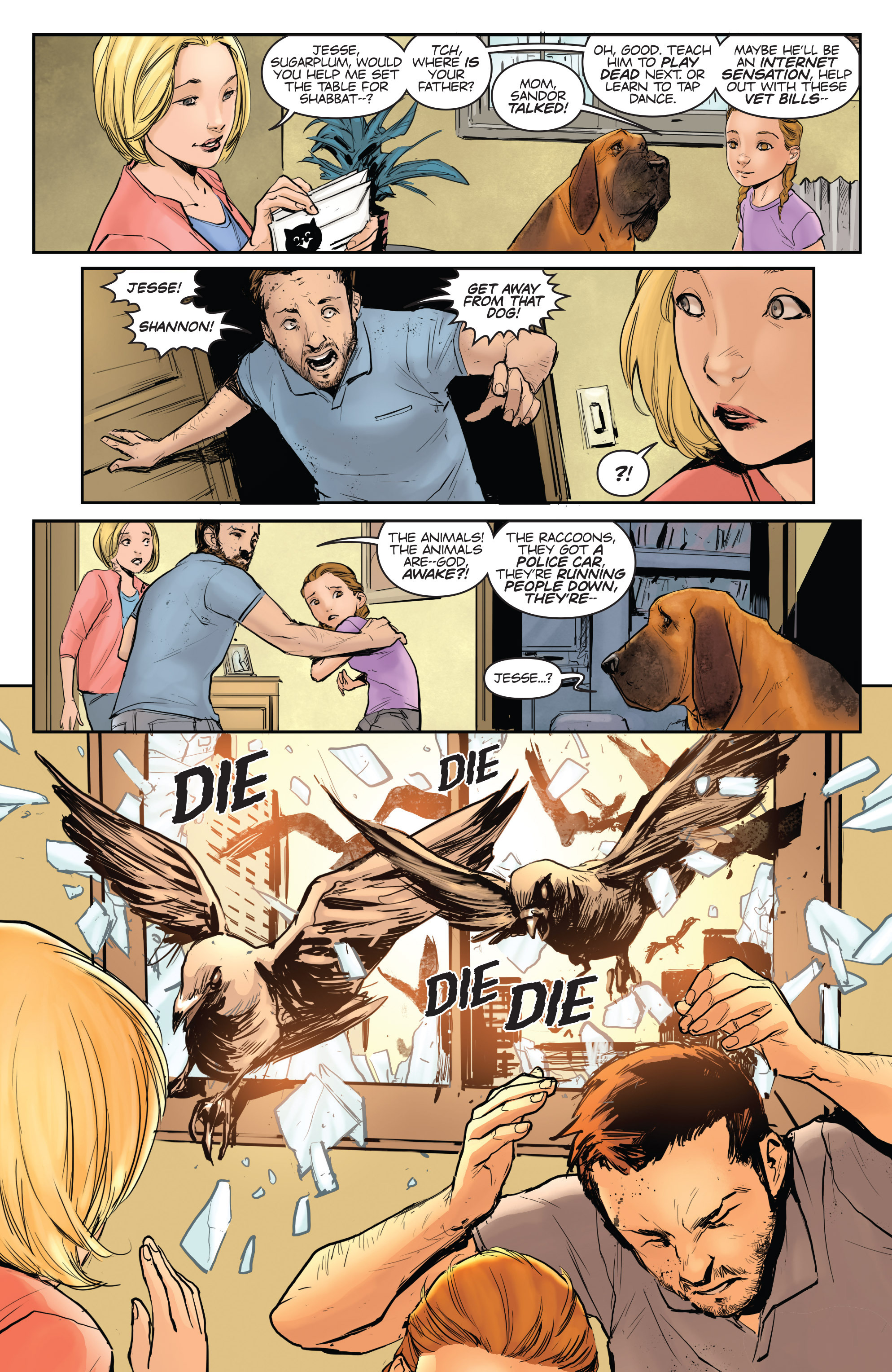 Read online Animosity comic -  Issue #1 - 10