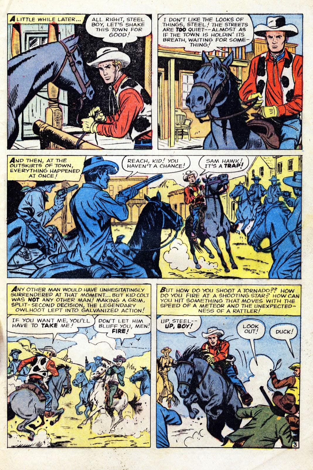Gunsmoke Western issue 60 - Page 5