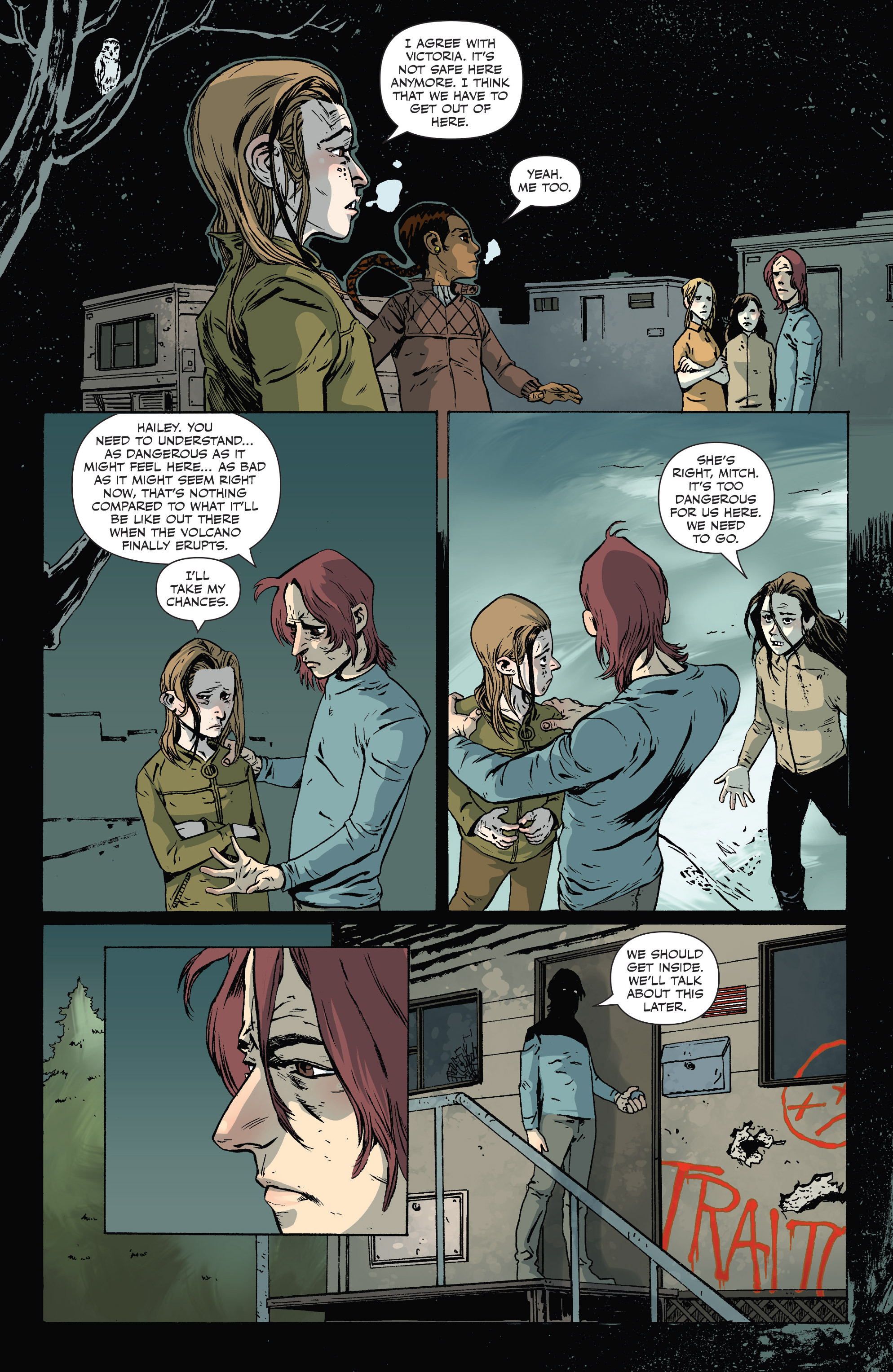Read online Sheltered comic -  Issue #10 - 11